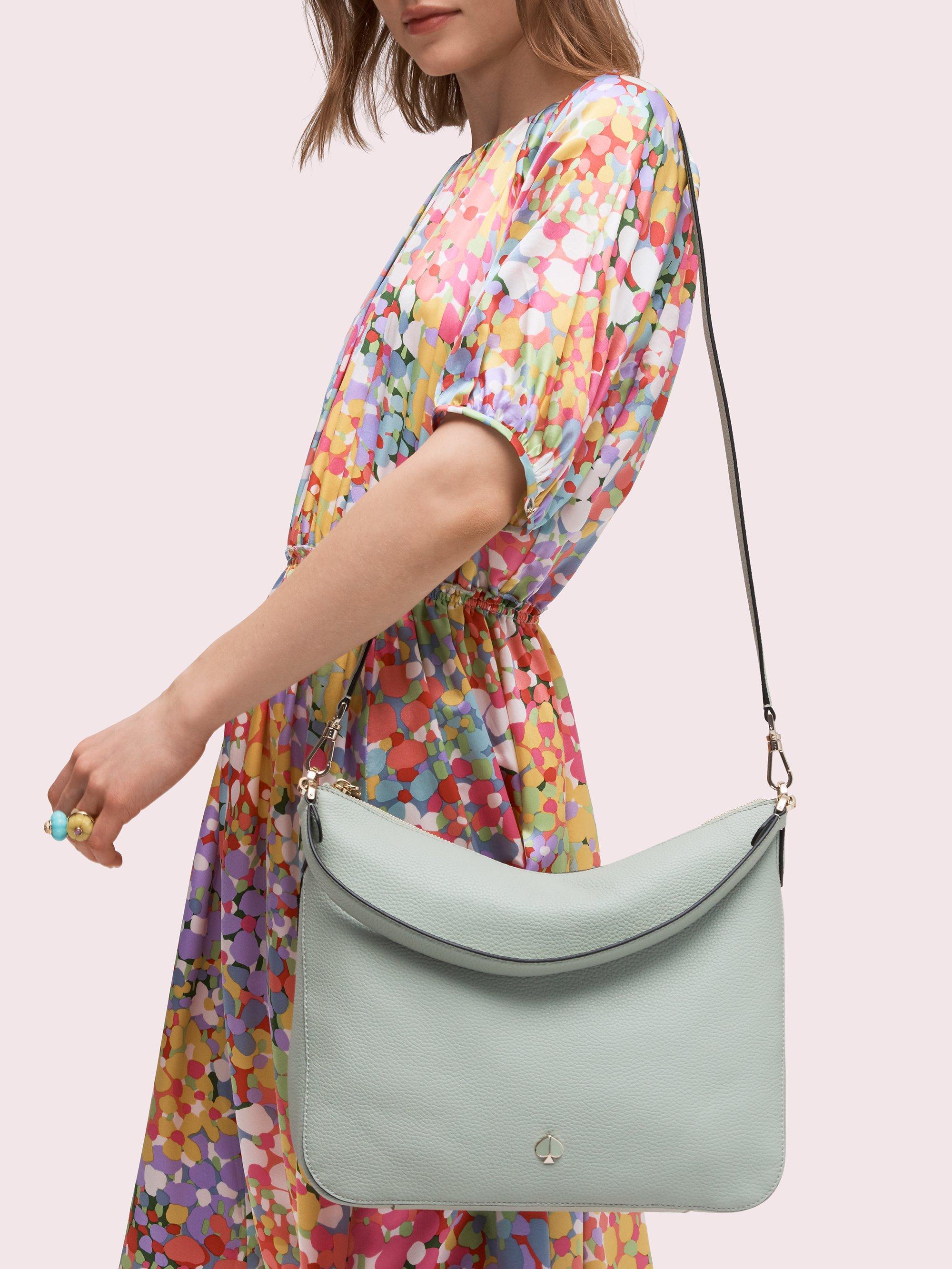 Kate Spade Leather Polly Medium Shoulder Bag Lyst