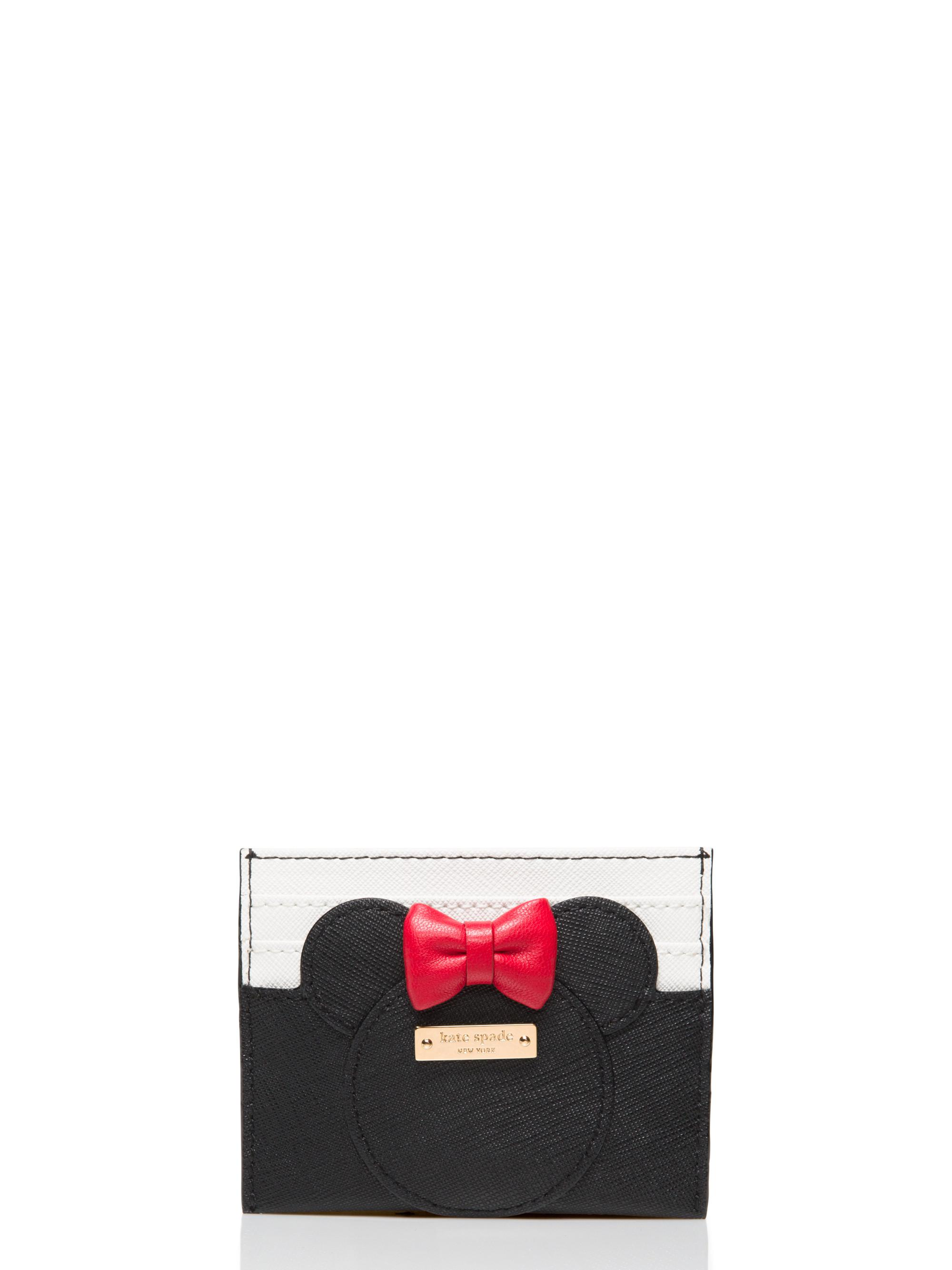 Lyst - Kate Spade For Minnie Mouse Minnie Card Case