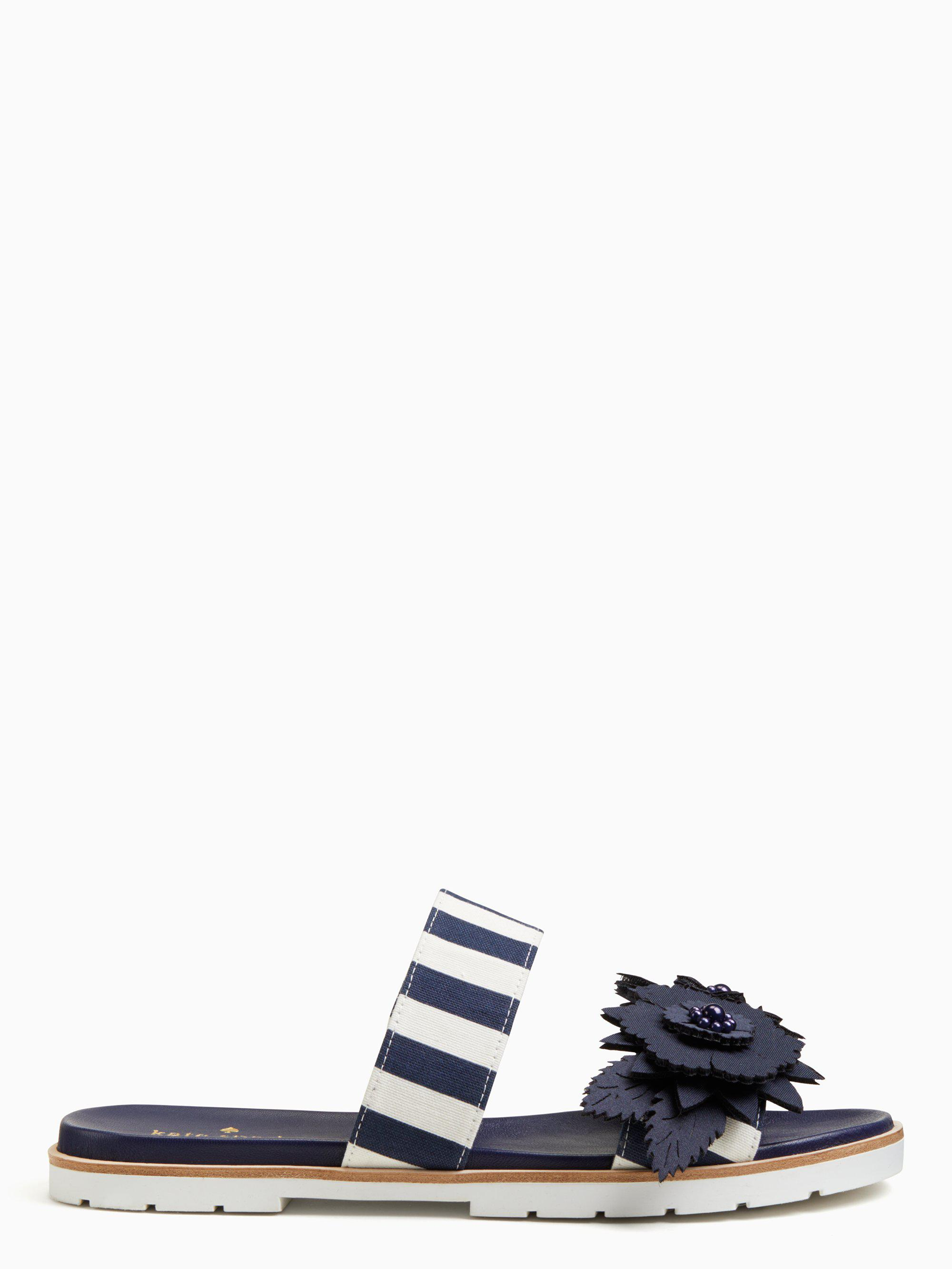 484c1788dfc6 Lyst - Kate Spade Marley Sandals in Blue