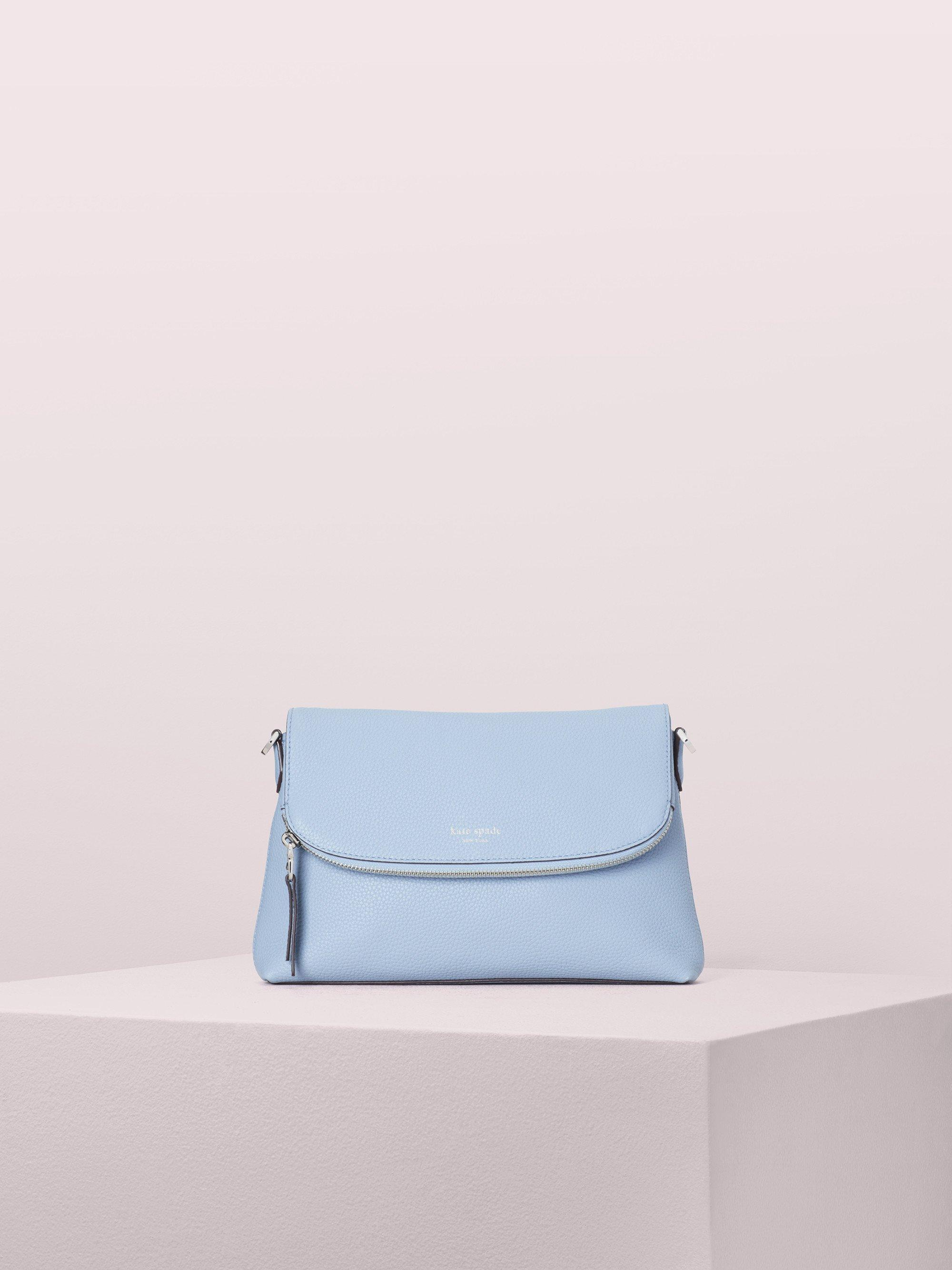 02cec8a6ef6d Kate Spade. Women s Blue Polly Large Convertible Crossbody. £250 From kate  spade new york