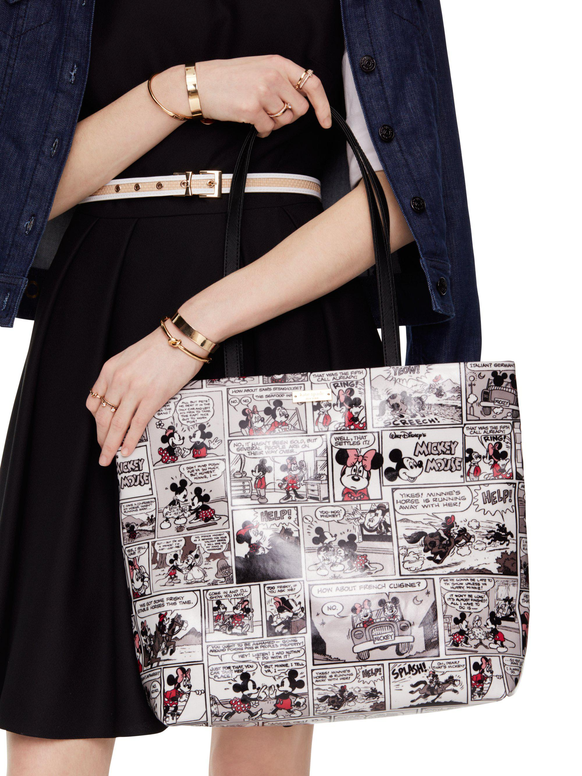 d918f4636d6 Lyst - Kate Spade New York For Minnie Mouse Comic Tote