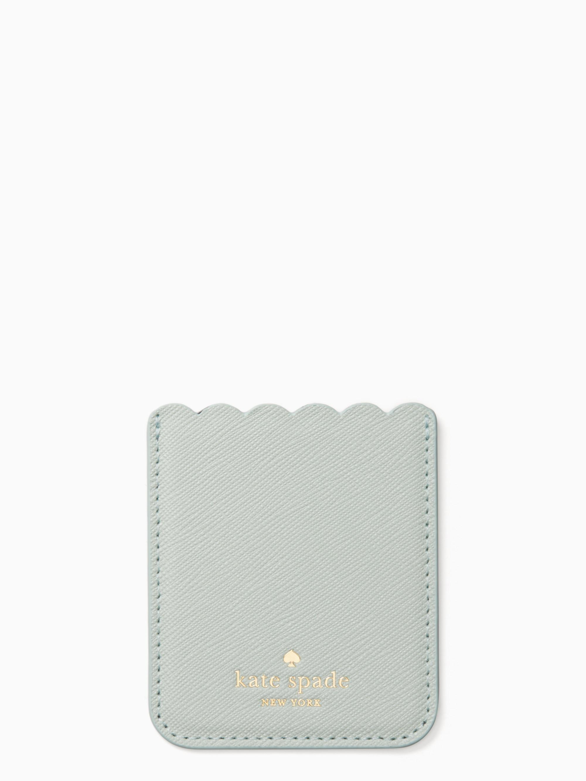 lowest price 3652f 51d45 Kate Spade Multicolor Scallop Sticker Pocket