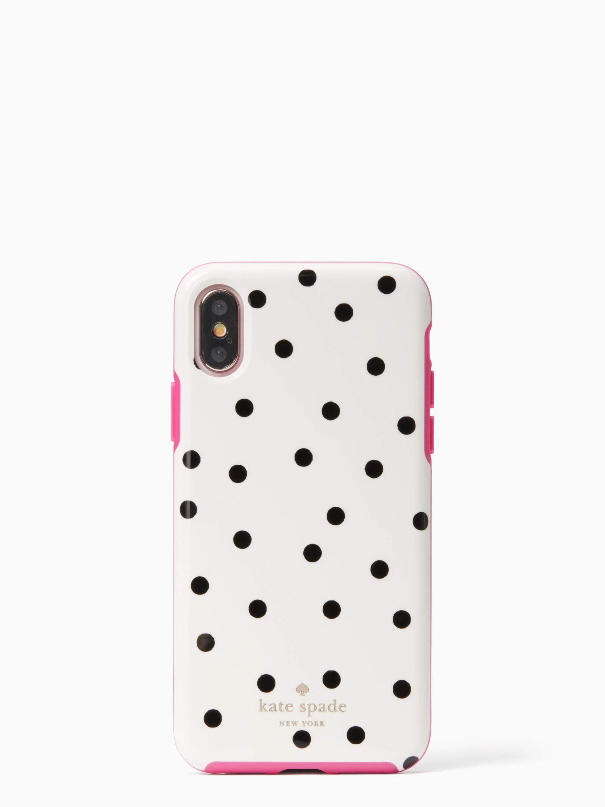 new arrival 2183c 11565 Kate Spade Dancing Dot Iphone X Case - Lyst