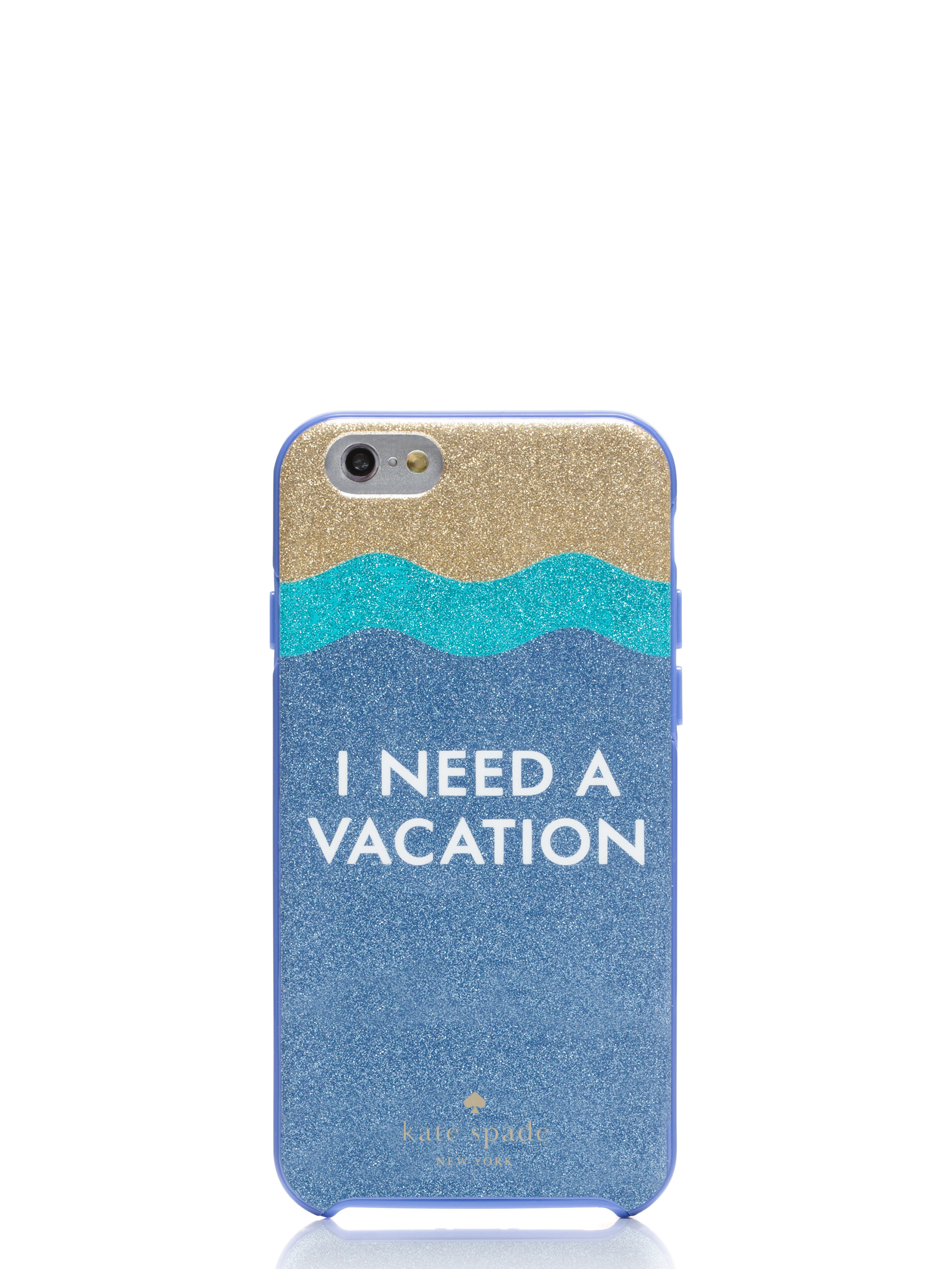 Kate Spade I Need A Vacation Iphone Case