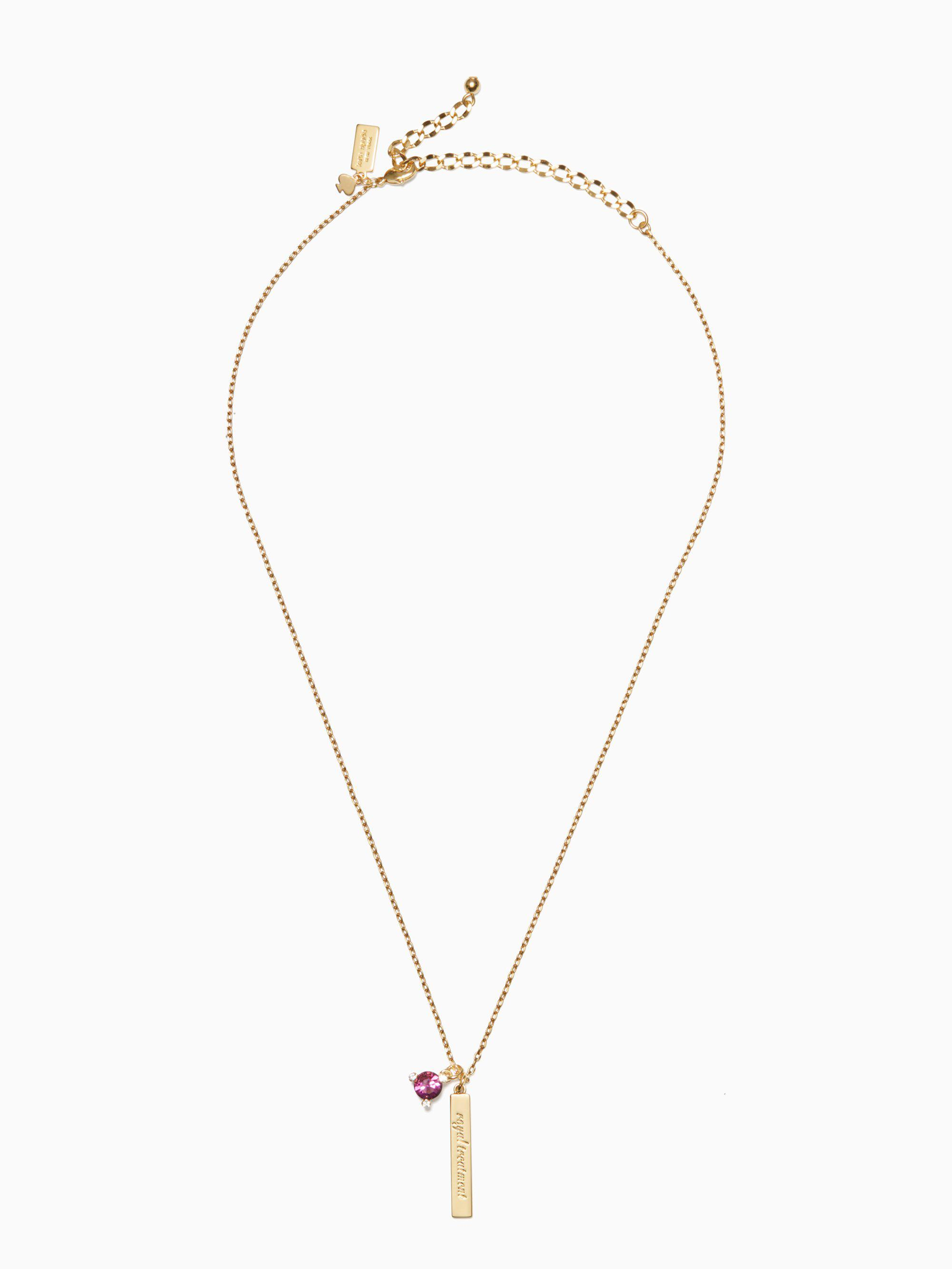 18-Inch Rhodium Plated Necklace with 4mm Amethyst Birthstone Beads and Sterling Silver Graduation Heart Charm.