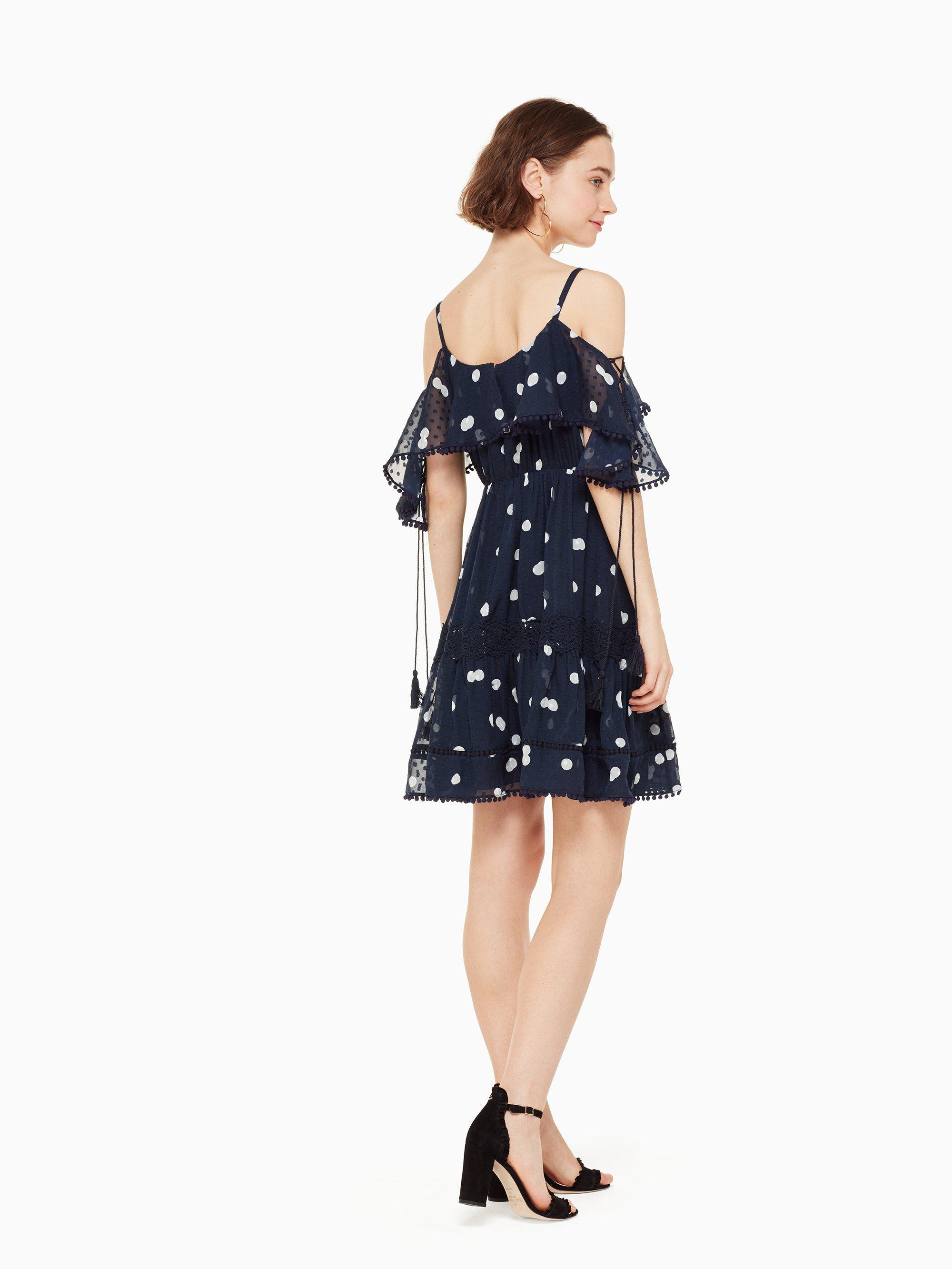 695749a2e688 Kate Spade Mini Dee Dot Kaci Dress in Blue - Lyst