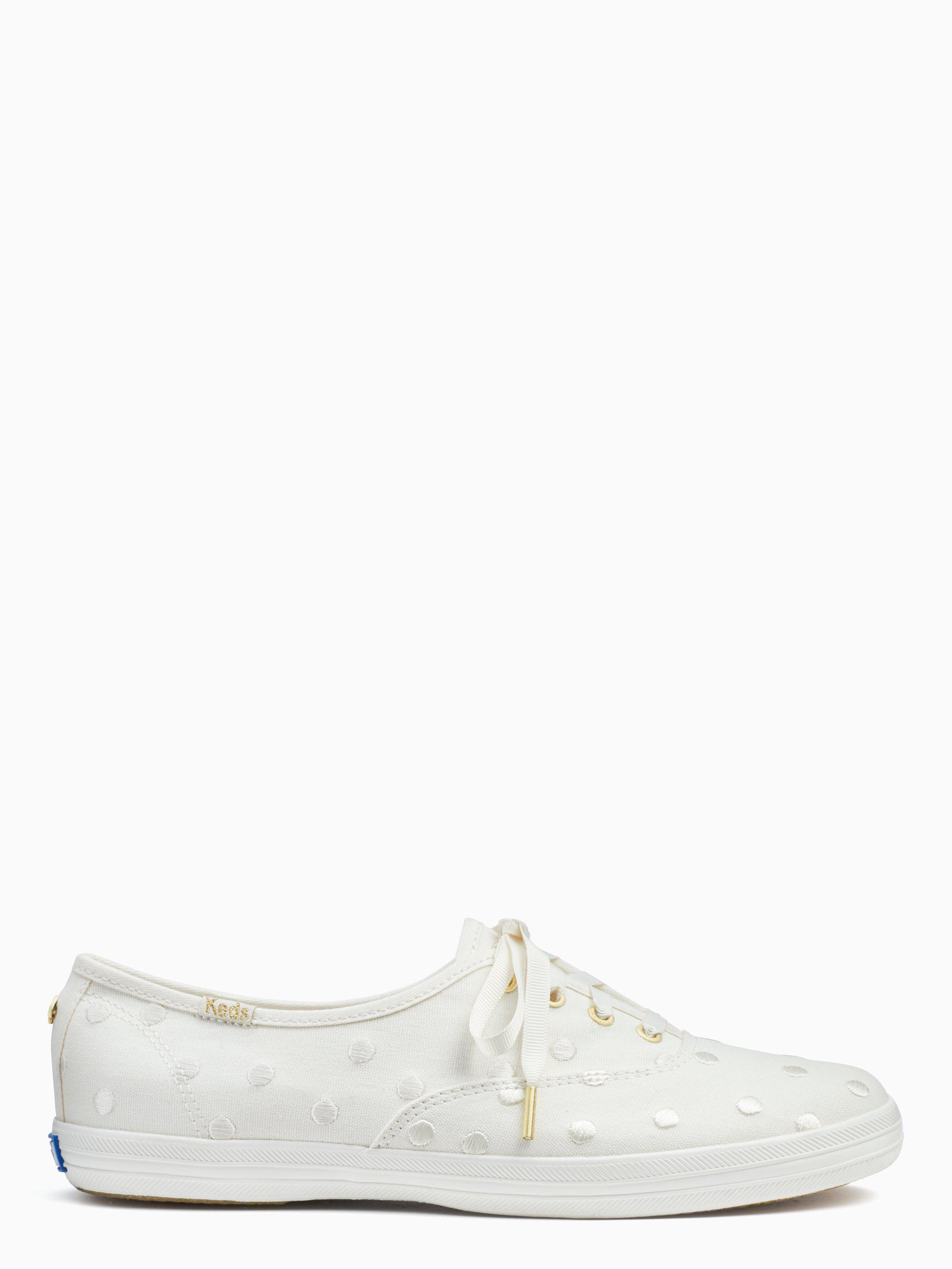 48dcd31f77 Kate Spade - White Keds X New York Champion Sneakers - Lyst. View fullscreen