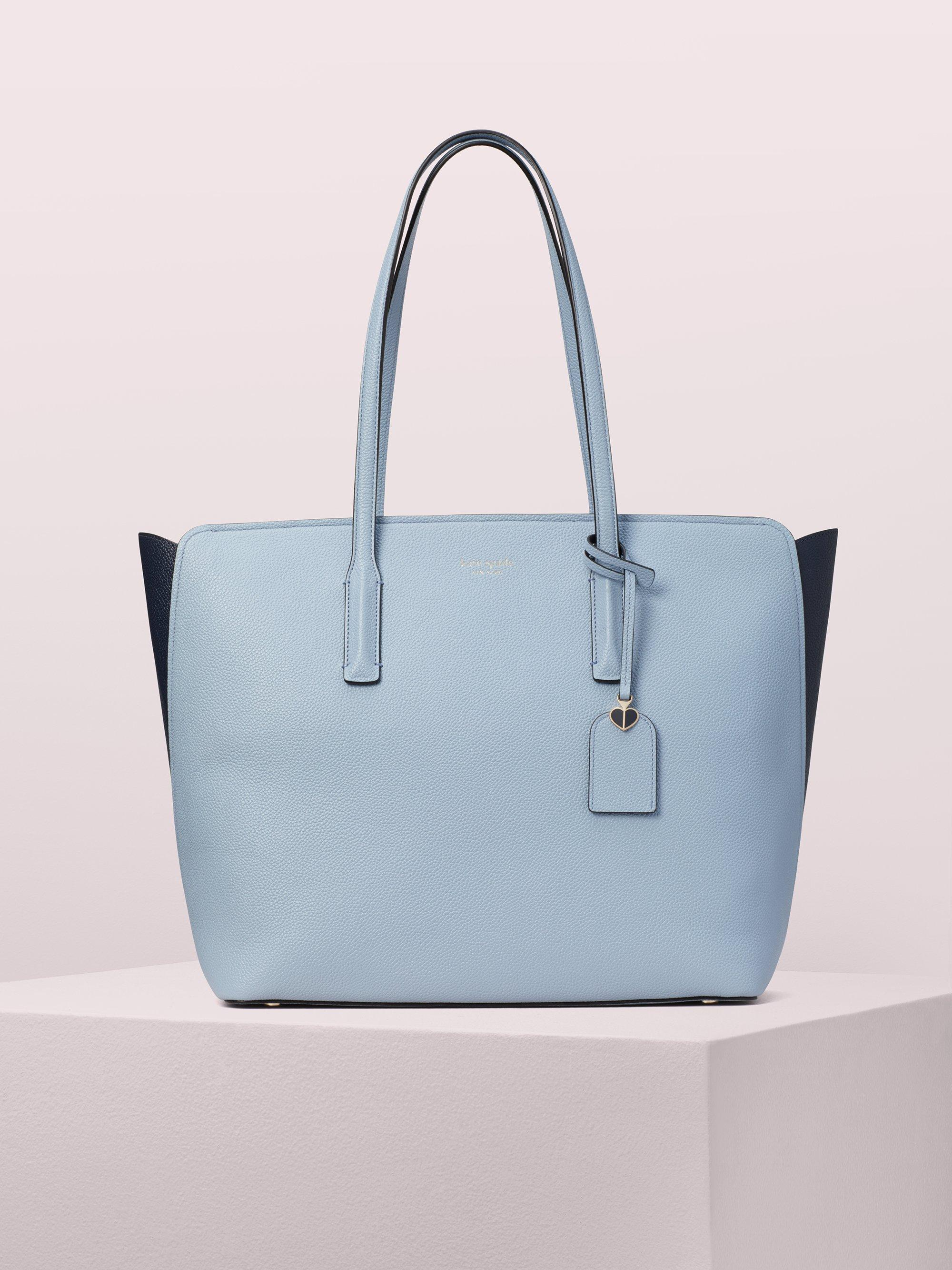 4fc932f95c00 Kate Spade. Women s Blue Margaux Large Tote.  298 From kate spade new york