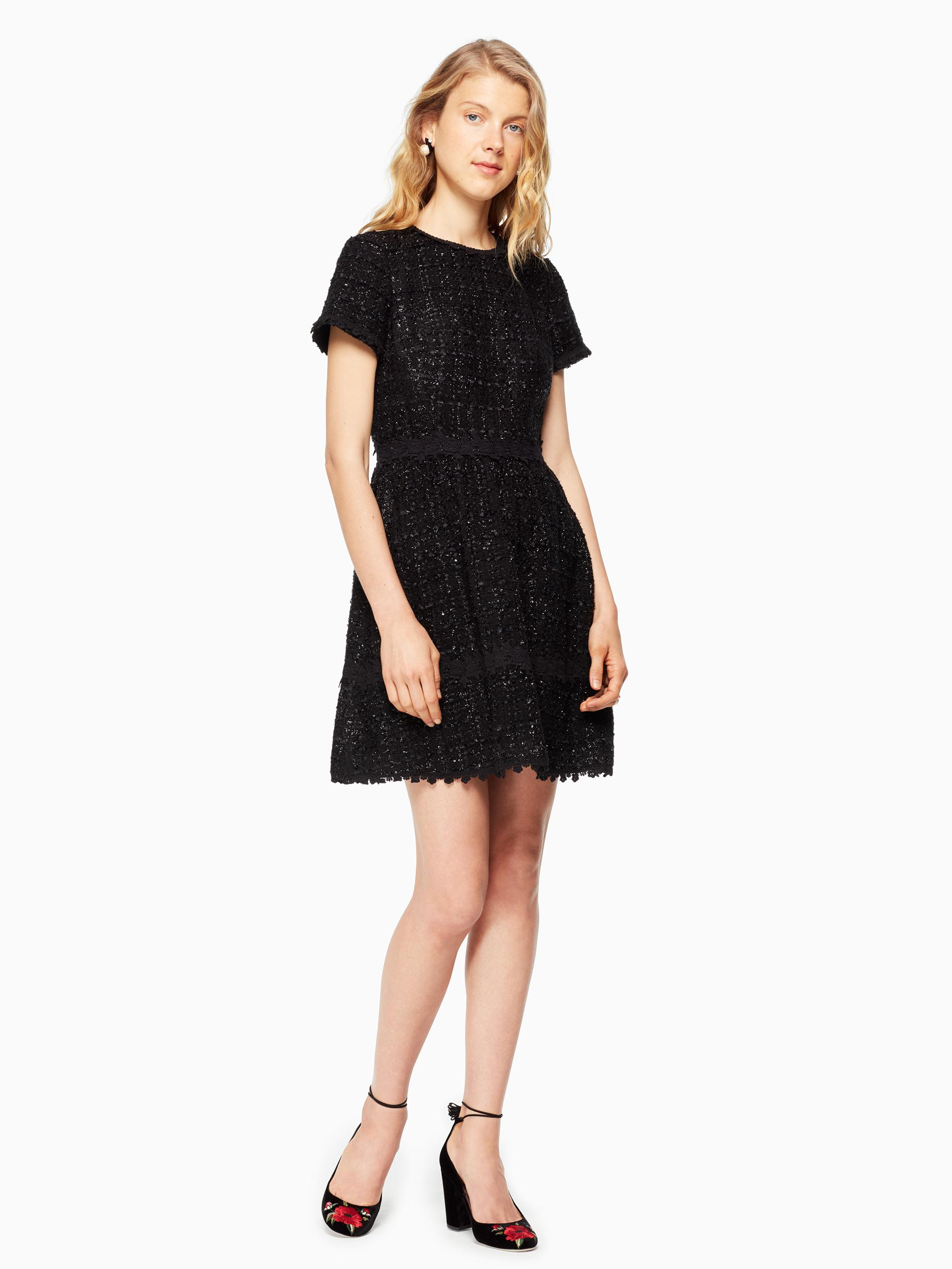 4e81af1dfecd Kate Spade Jayne Dress in Black - Lyst