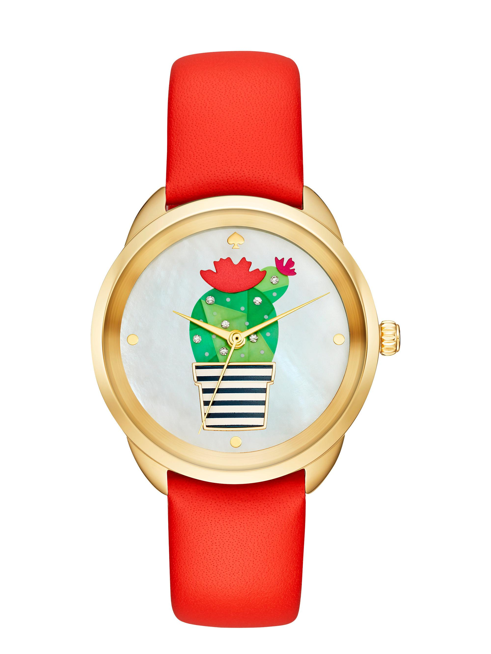 440ca7bd0 Kate Spade Cactus Crosstown Watch in Metallic - Lyst