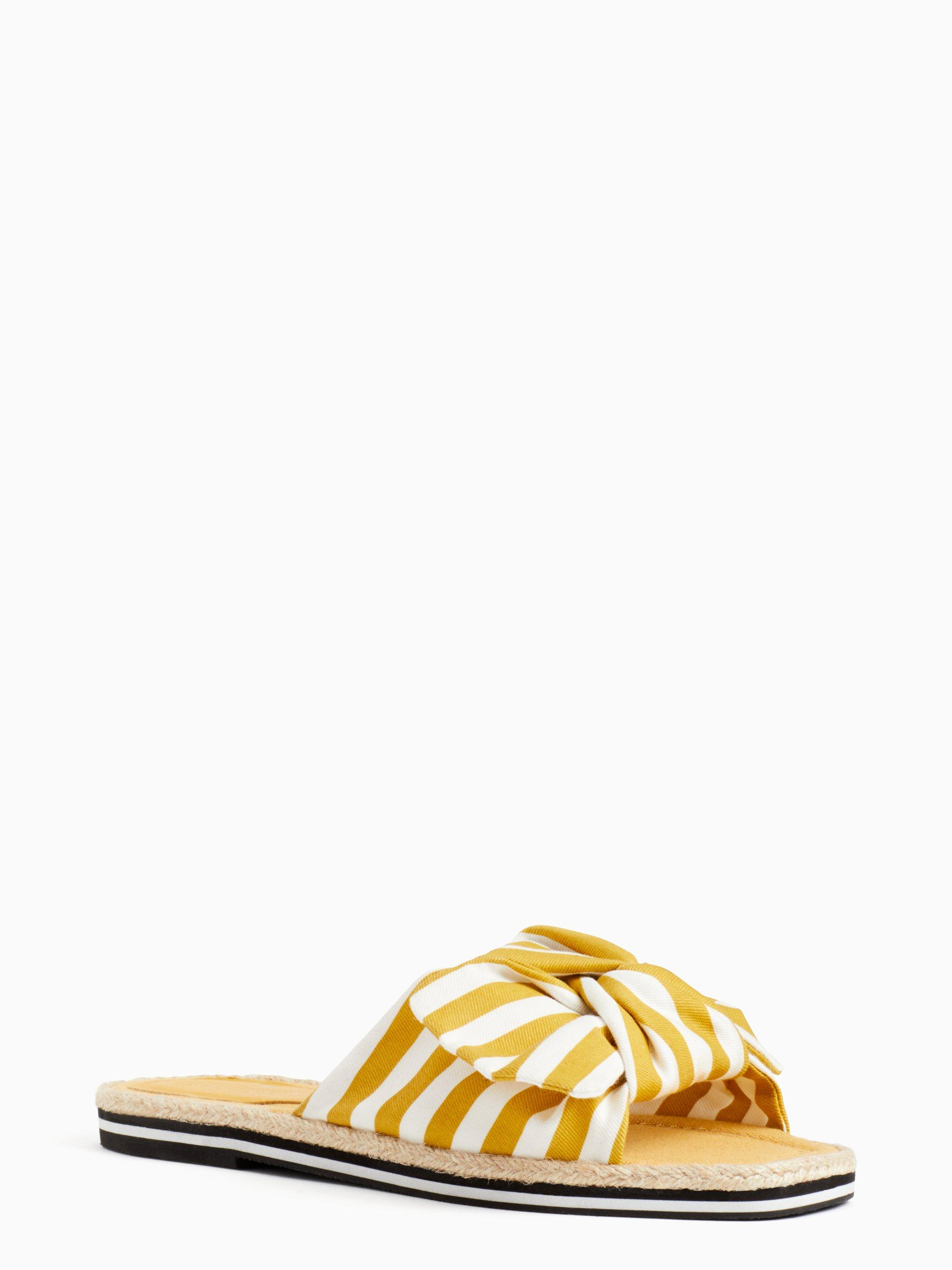 970a3730118 Lyst - Kate Spade Caliana Slide Sandals