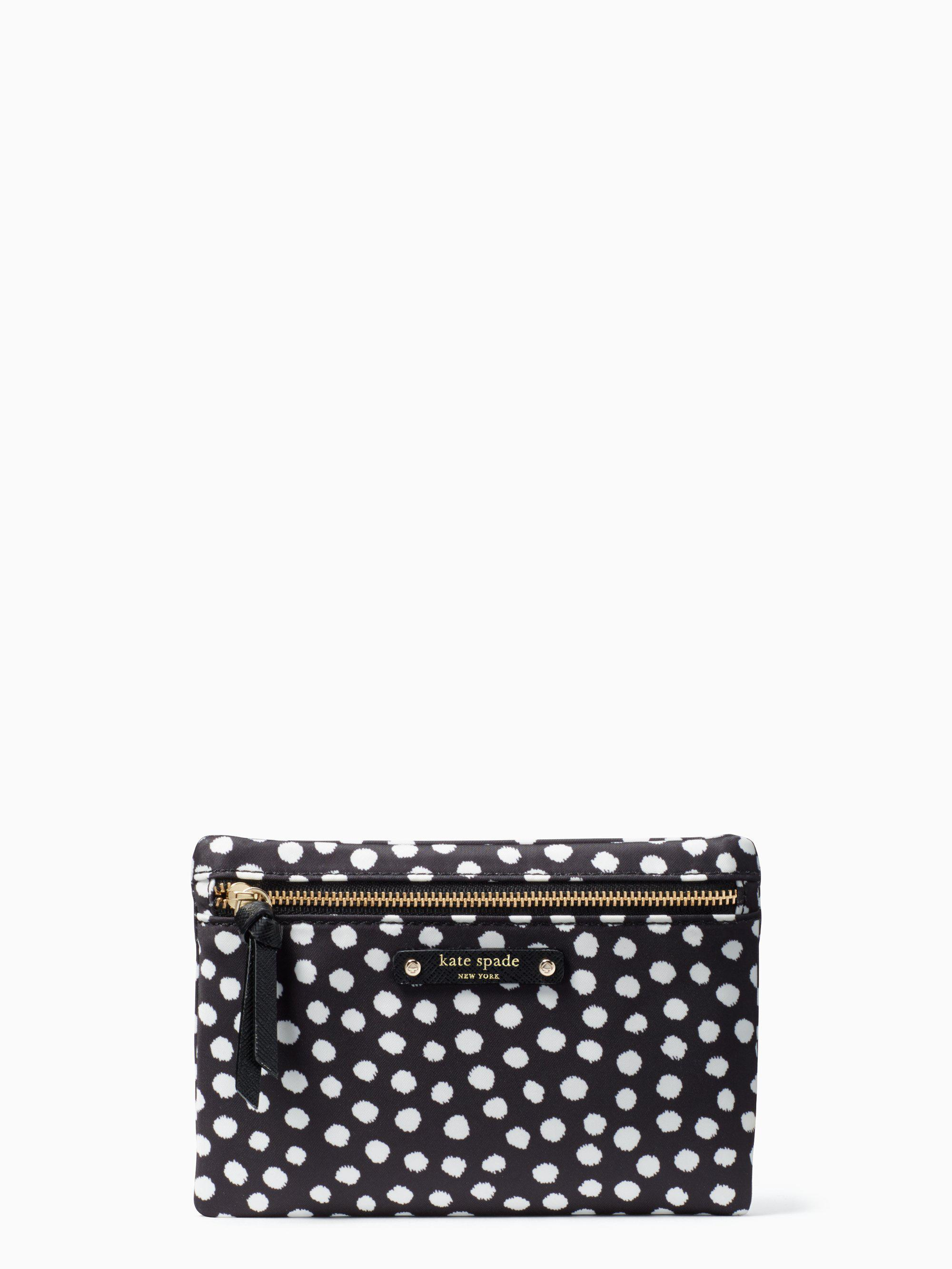 Kate Spade Synthetic Wilson Road Musical Dots Small Drewe in Black ...
