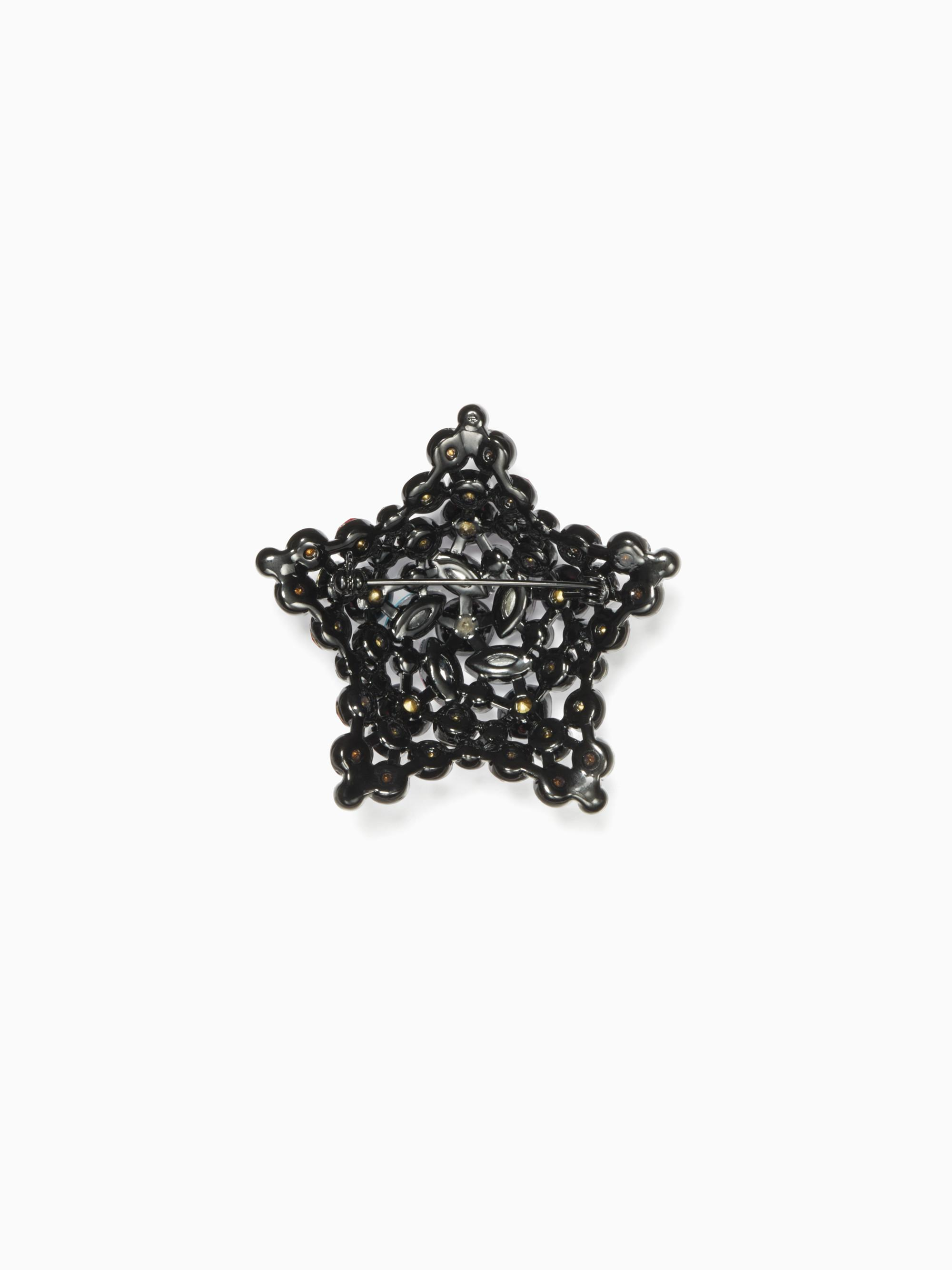 Kate Spade Bright Star Brooch in Blue