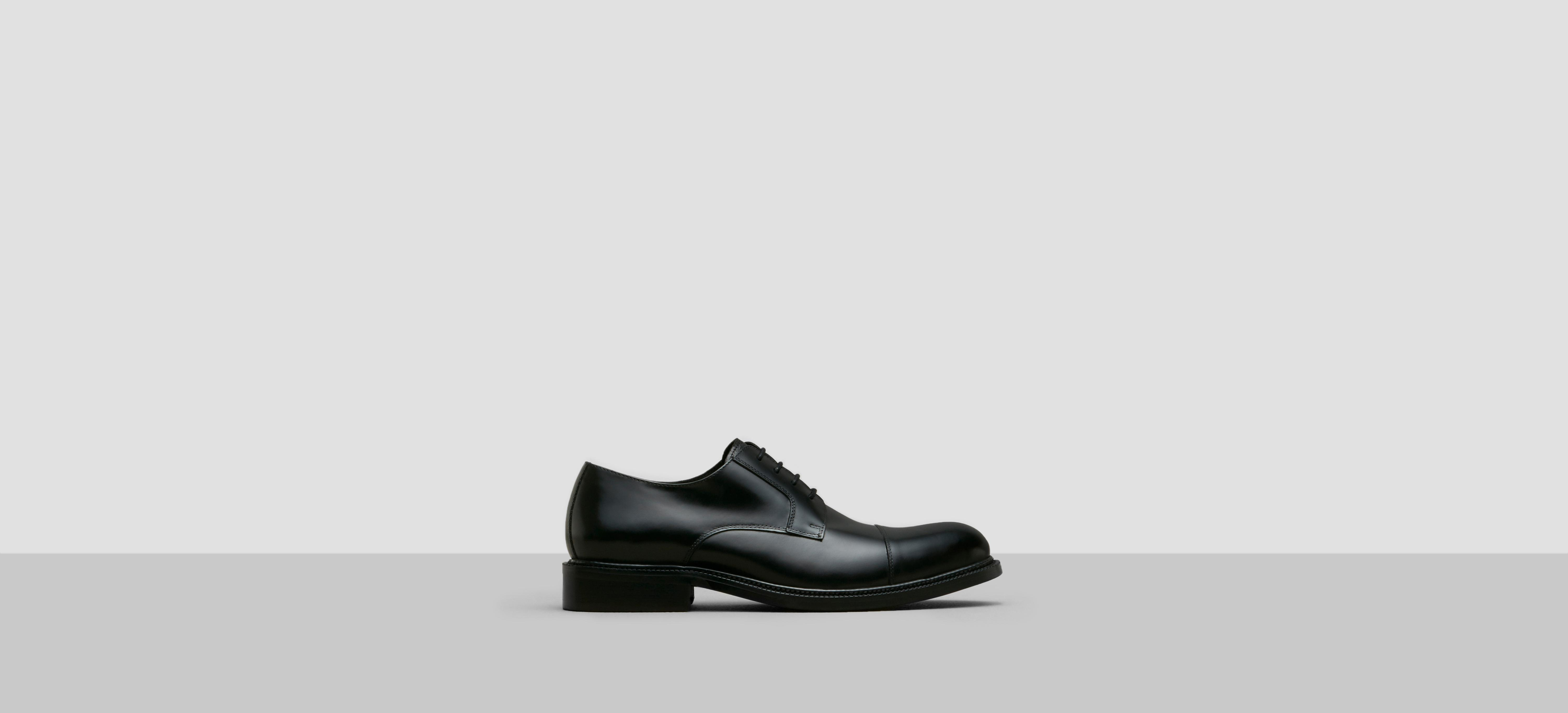Kenneth Cole Jump In Leather Oxford In Black For Men Lyst