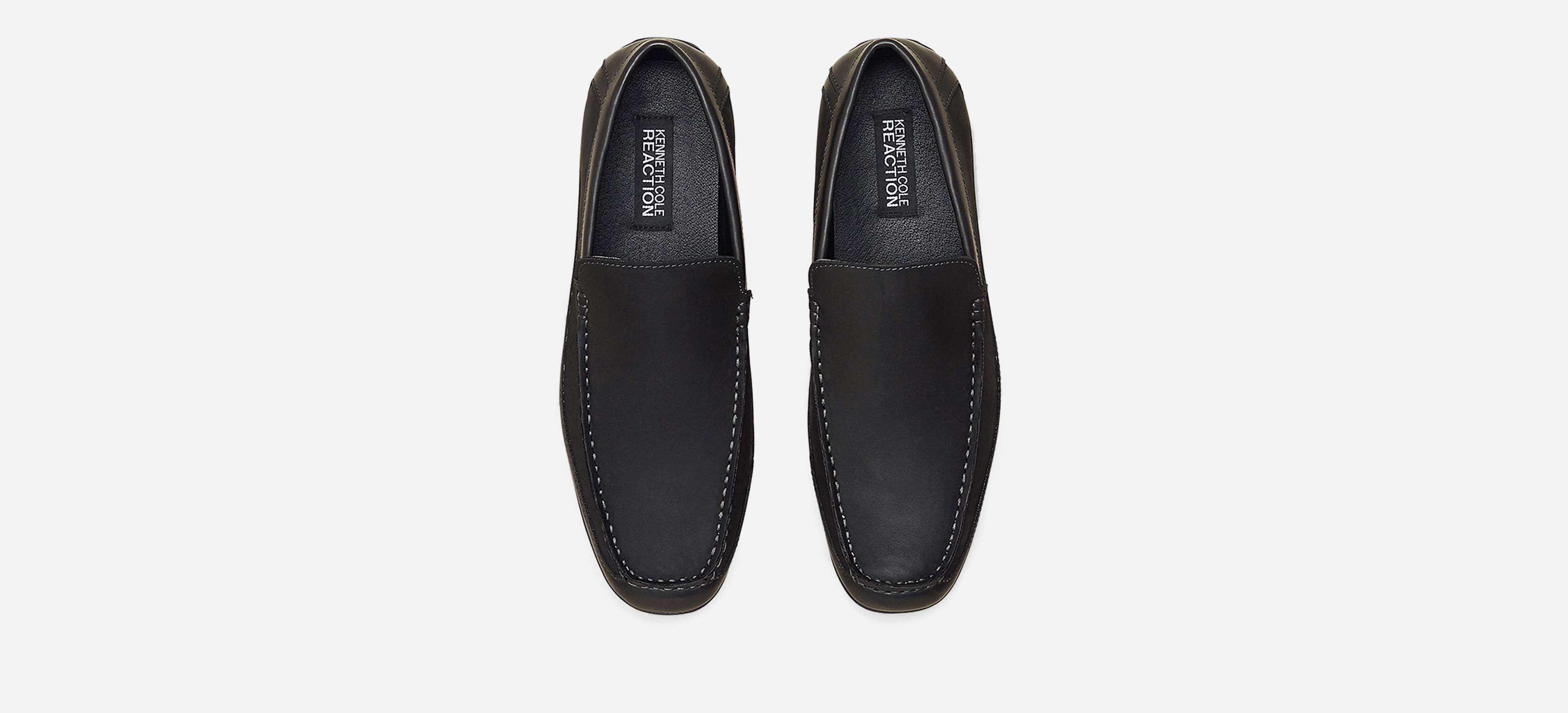 21085a3f83b Kenneth Cole Reaction - Black Lap Of Luxury Moc Toe Driver Loafer for Men -  Lyst. View fullscreen