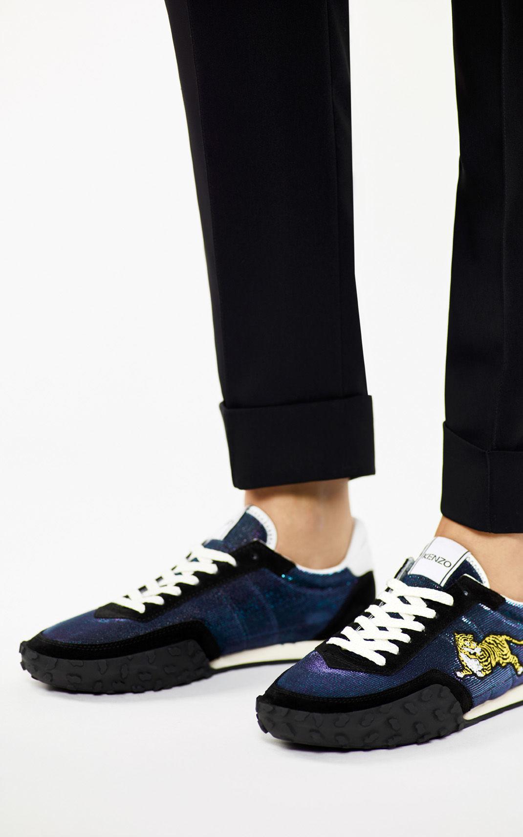 Kenzo Navy Move Sneakers paxylaa