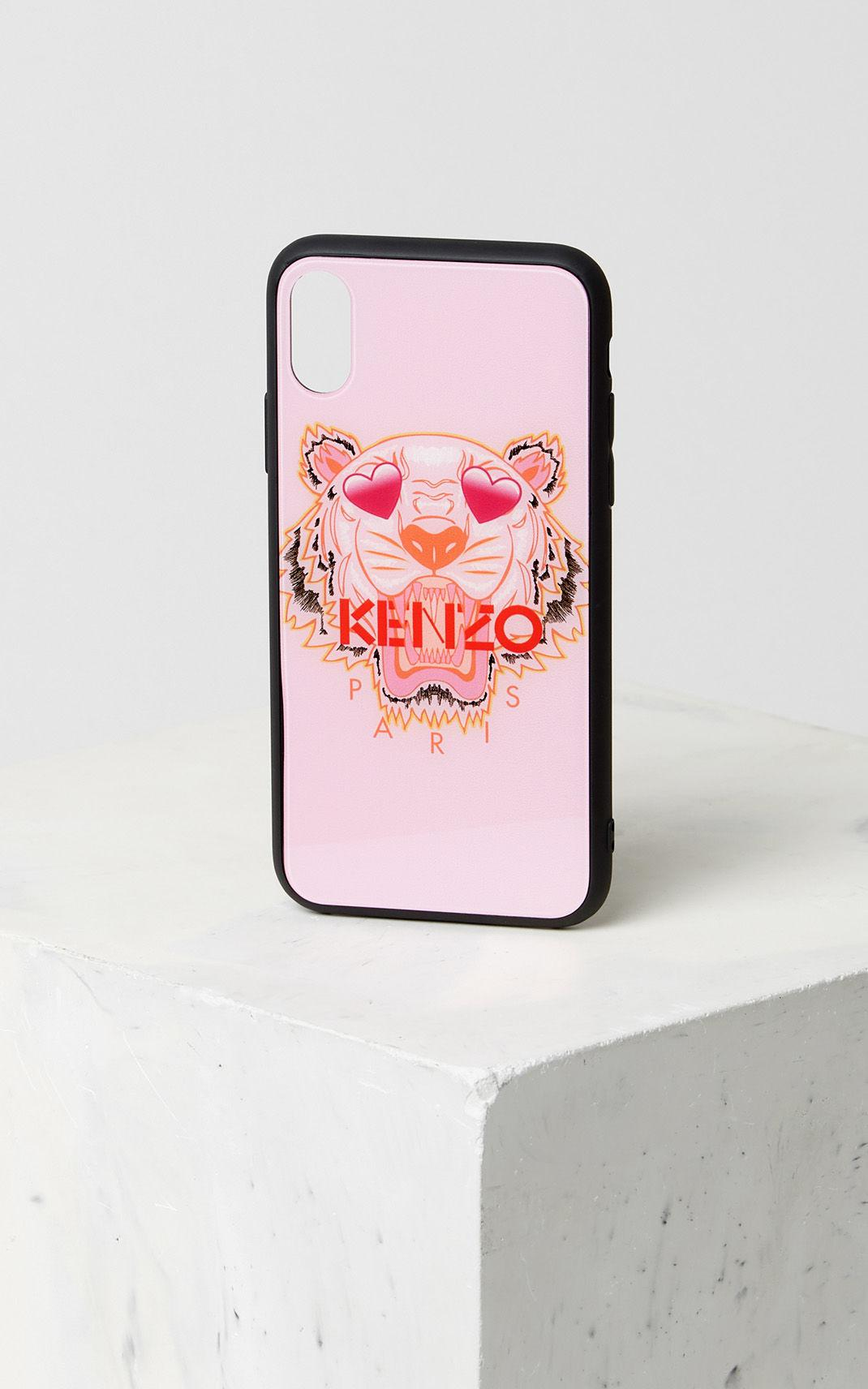 e44710f664 KENZO Pink Iphone X Tiger Case