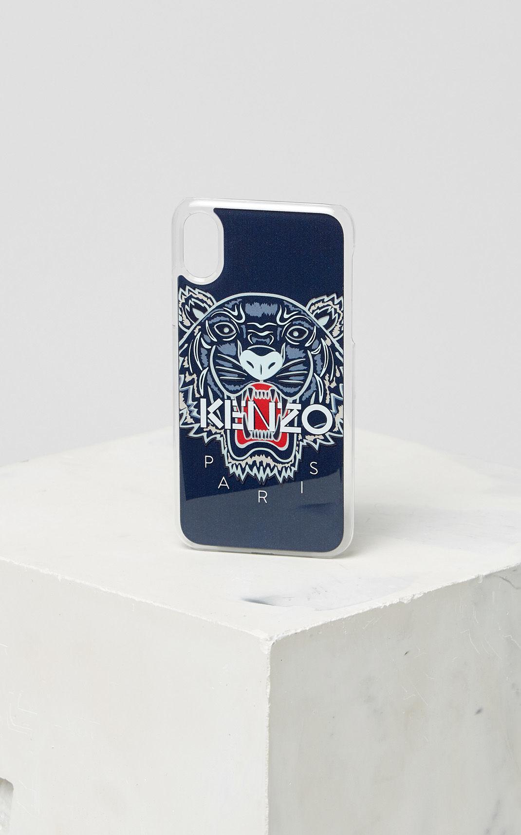 uk availability aec04 56575 Women's Blue 3d Tiger Iphone X Case