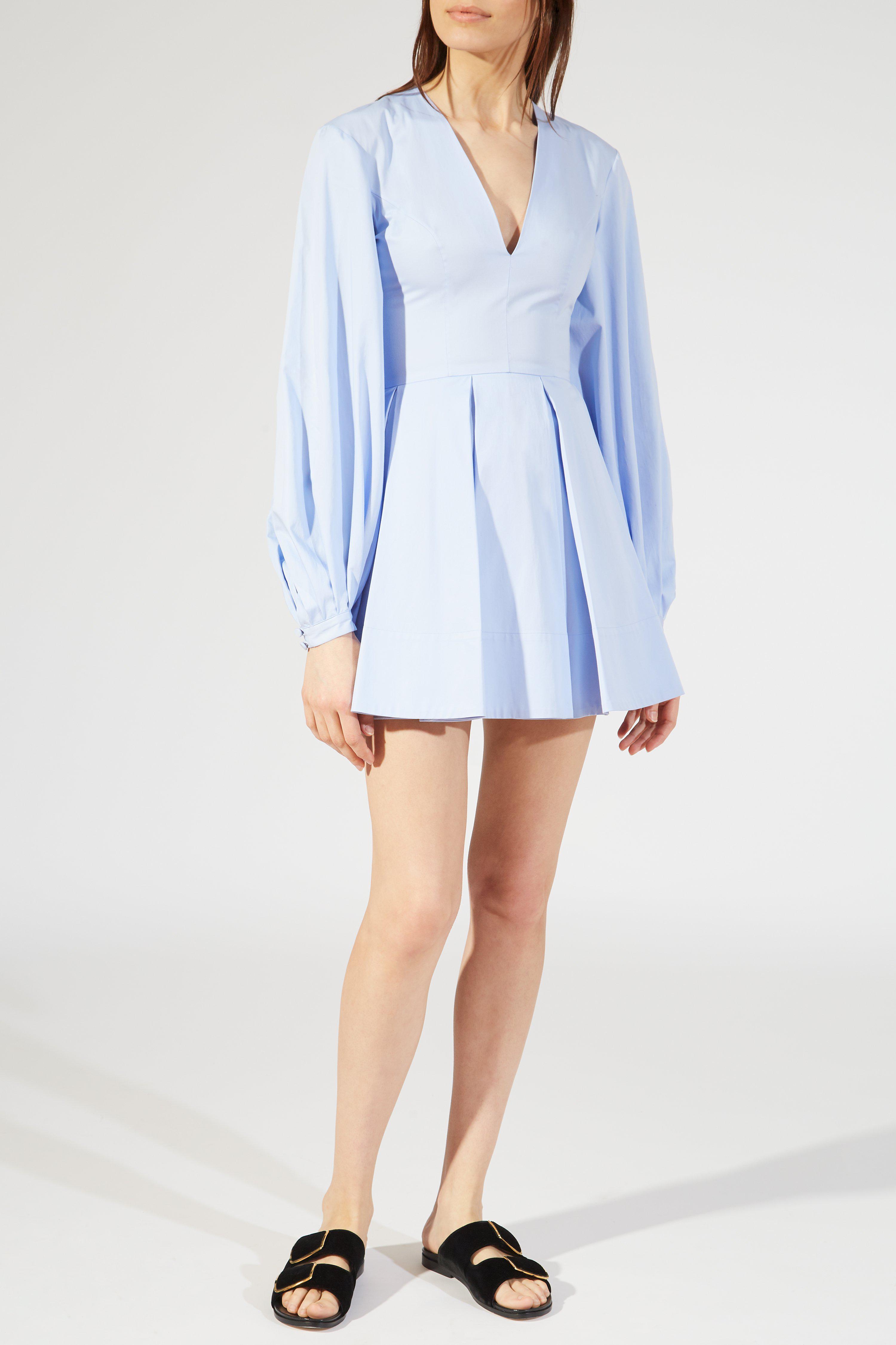 Huge Surprise Cheap Online Free Shipping Fashionable Denise dress - Blue Khaite o55vGhYP