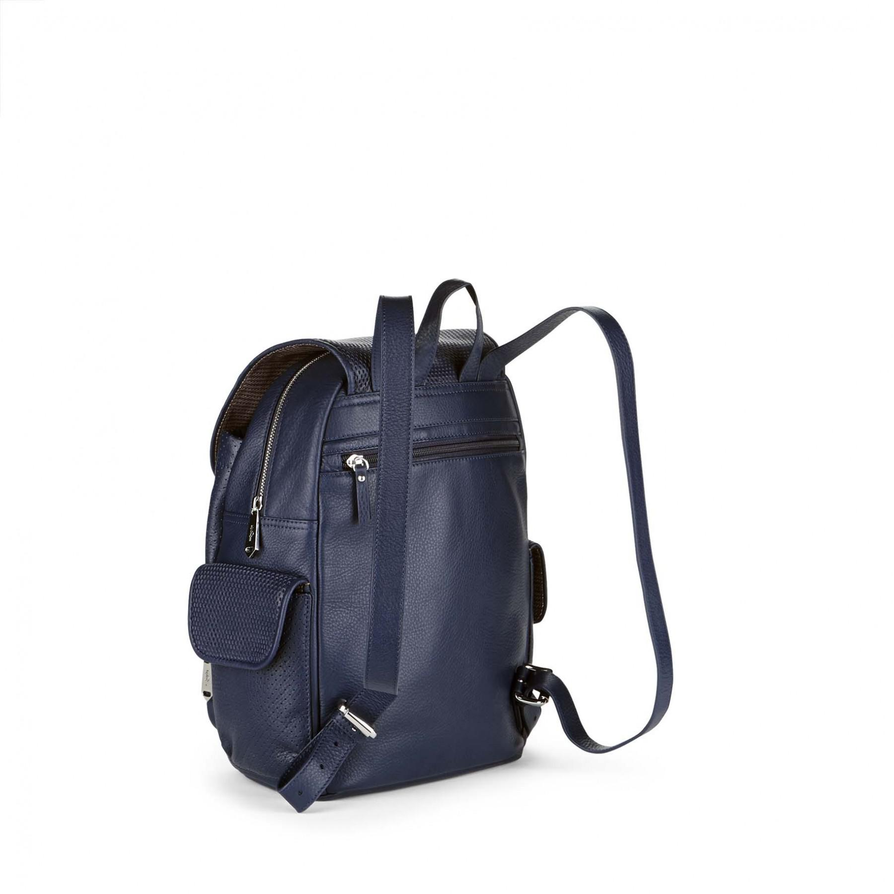 3e8ae2580 Kipling City Pack S Leather in Blue - Lyst
