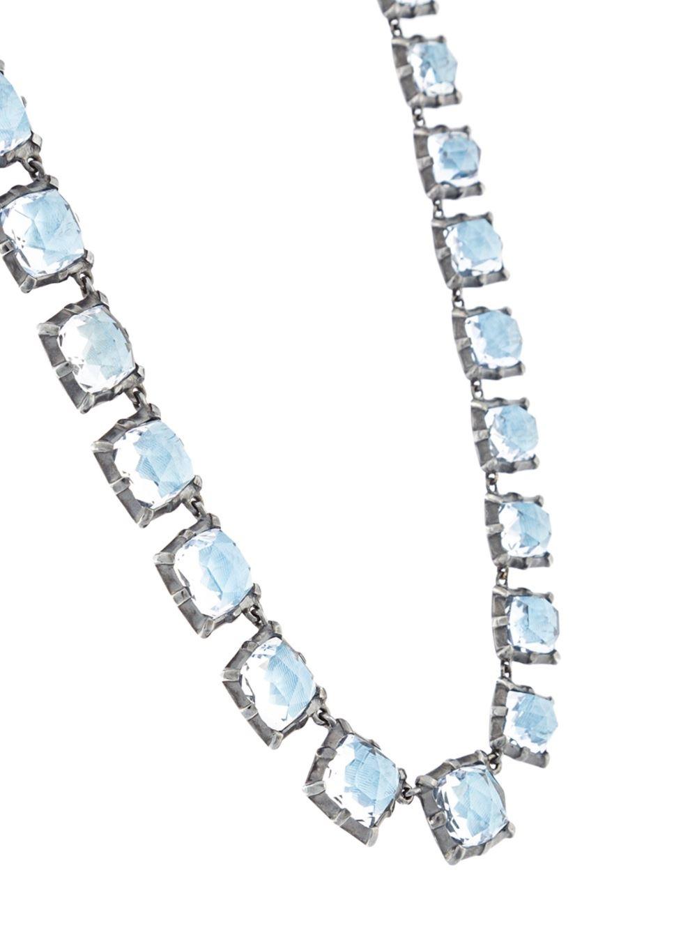 larkspur hawk graduated necklace blue lyst