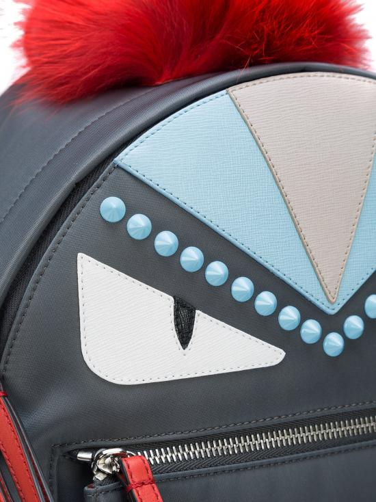 Fendi Fur Monster Backpack