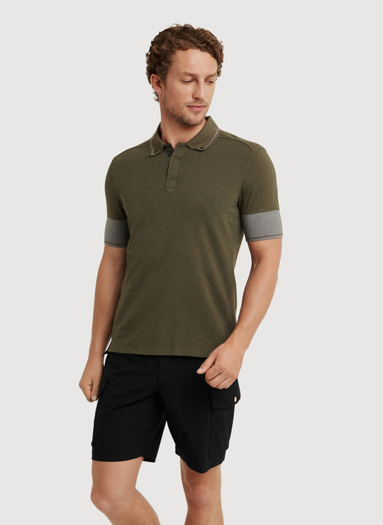 Kit and ace To The Nines Polo in Gray for Men