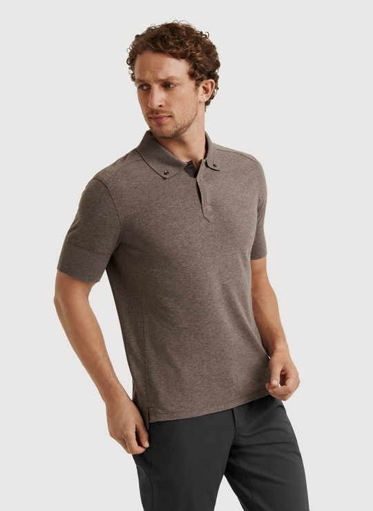 Kit and ace To The Nines Polo in Brown for Men