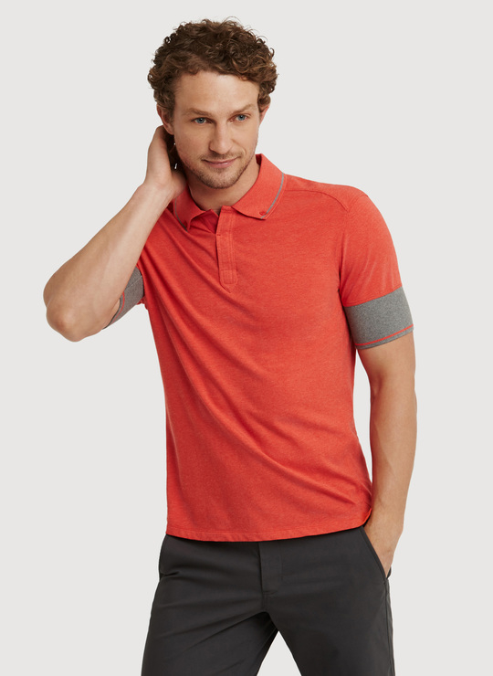 Kit and ace To The Nines Polo in Red for Men