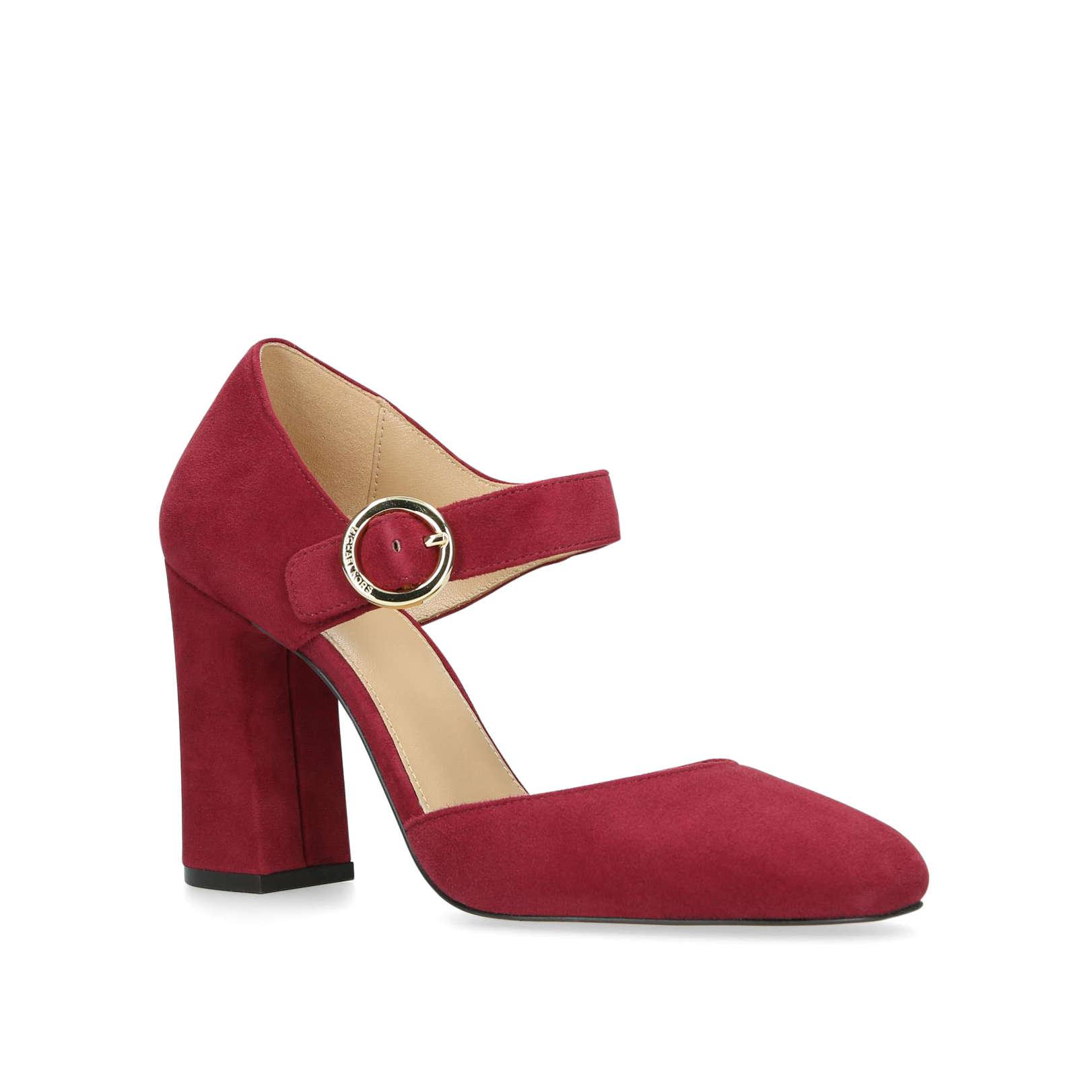 057332308197 MICHAEL Michael Kors Alana Closed Toe in Red - Lyst