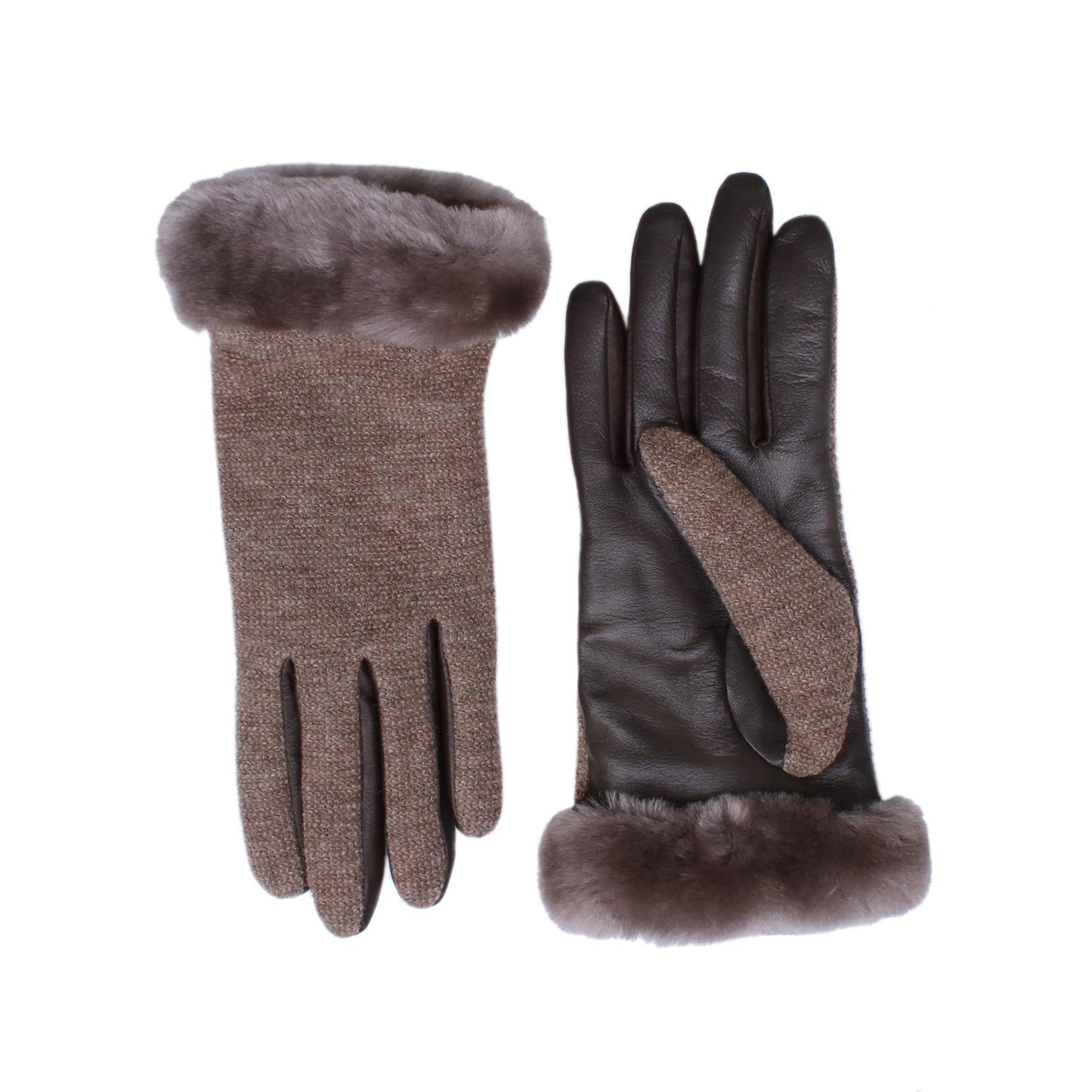 Ugg Shorty Smart Glove In Grey In Gray Lyst
