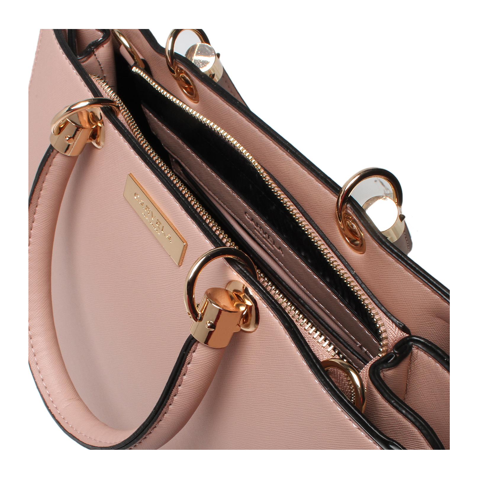 Carvela Kurt Geiger Darla Structured Tote Bag Pink