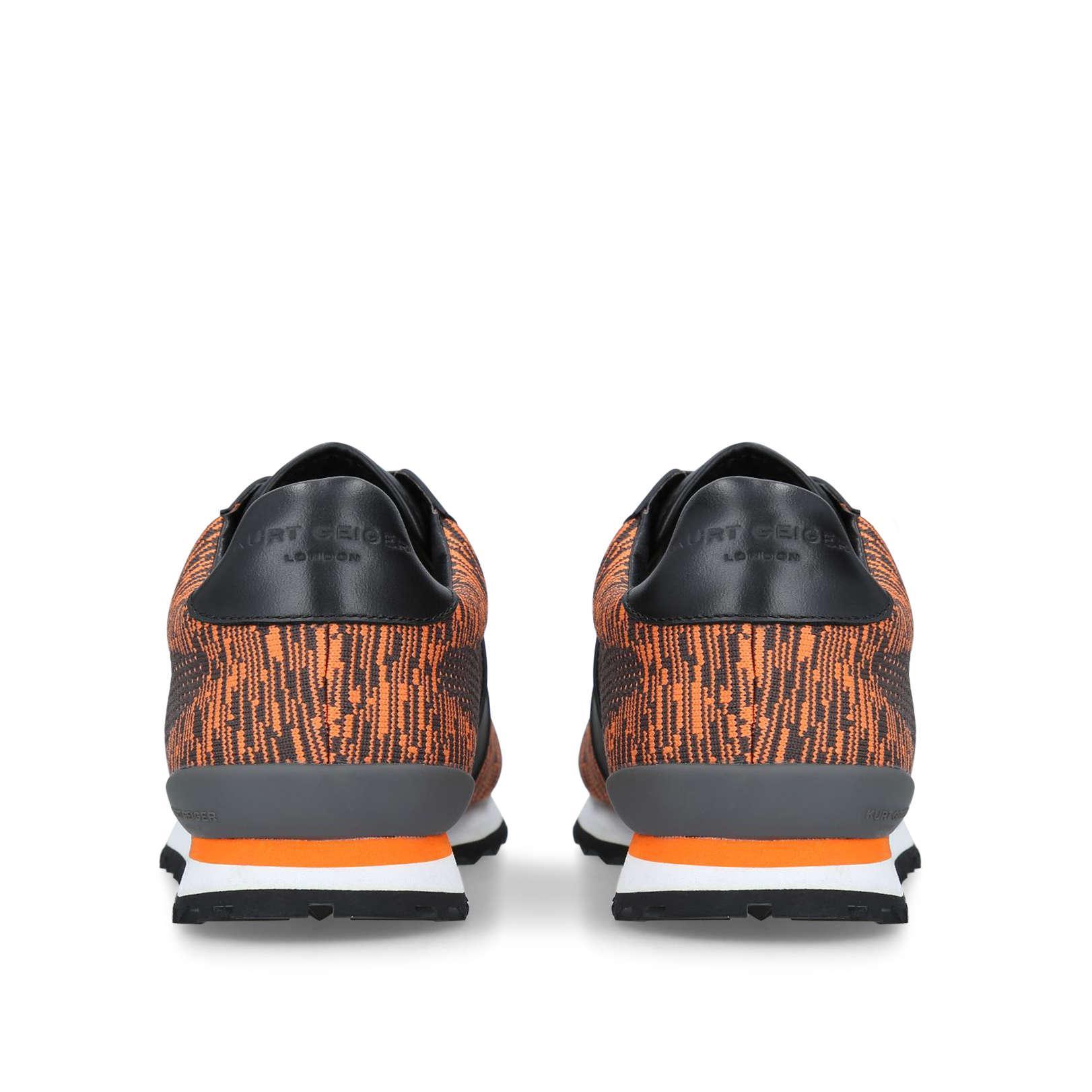 Kurt Geiger Denim Lamont Knit Sneakers