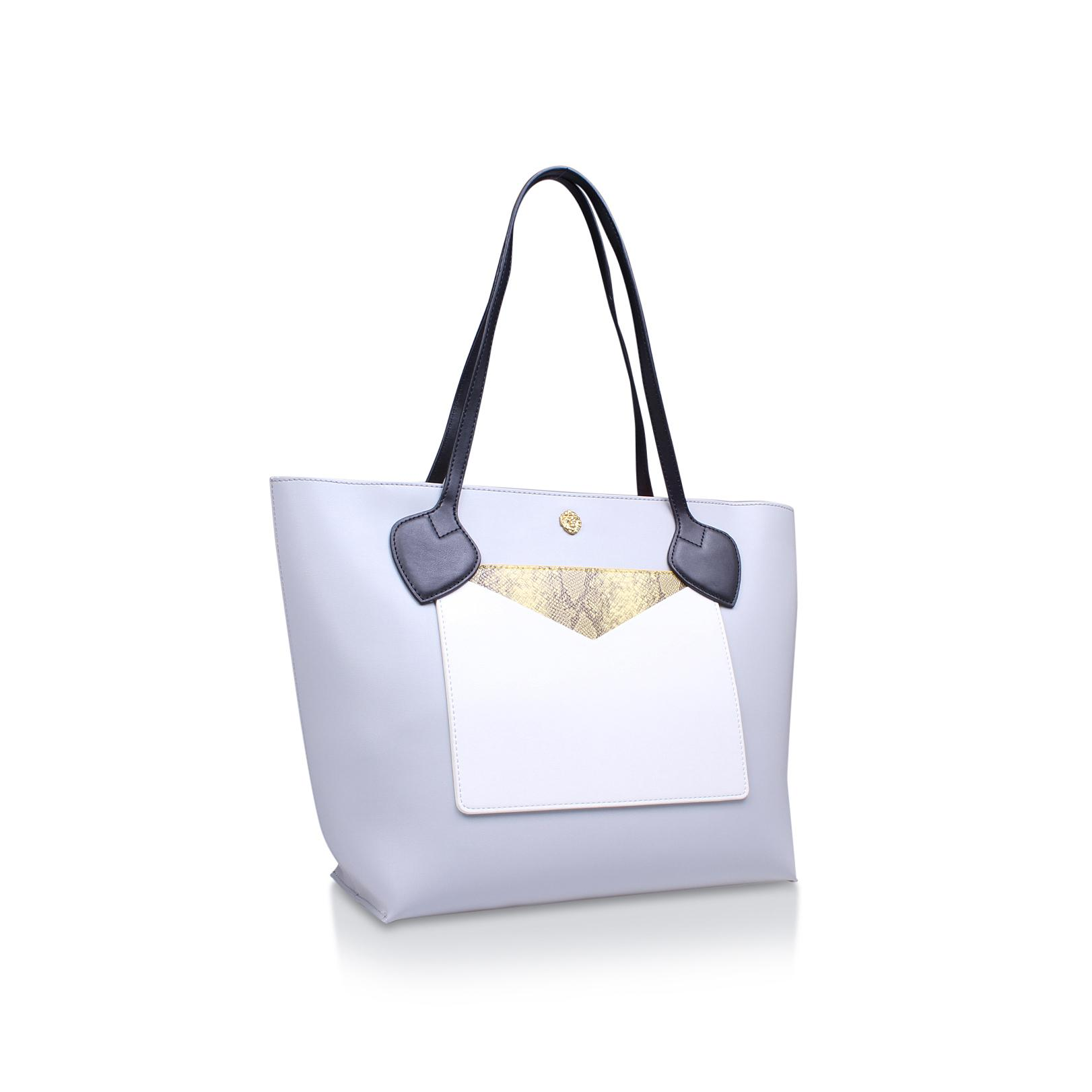 Anne Klein Toni Tote In Grey Other in Grey