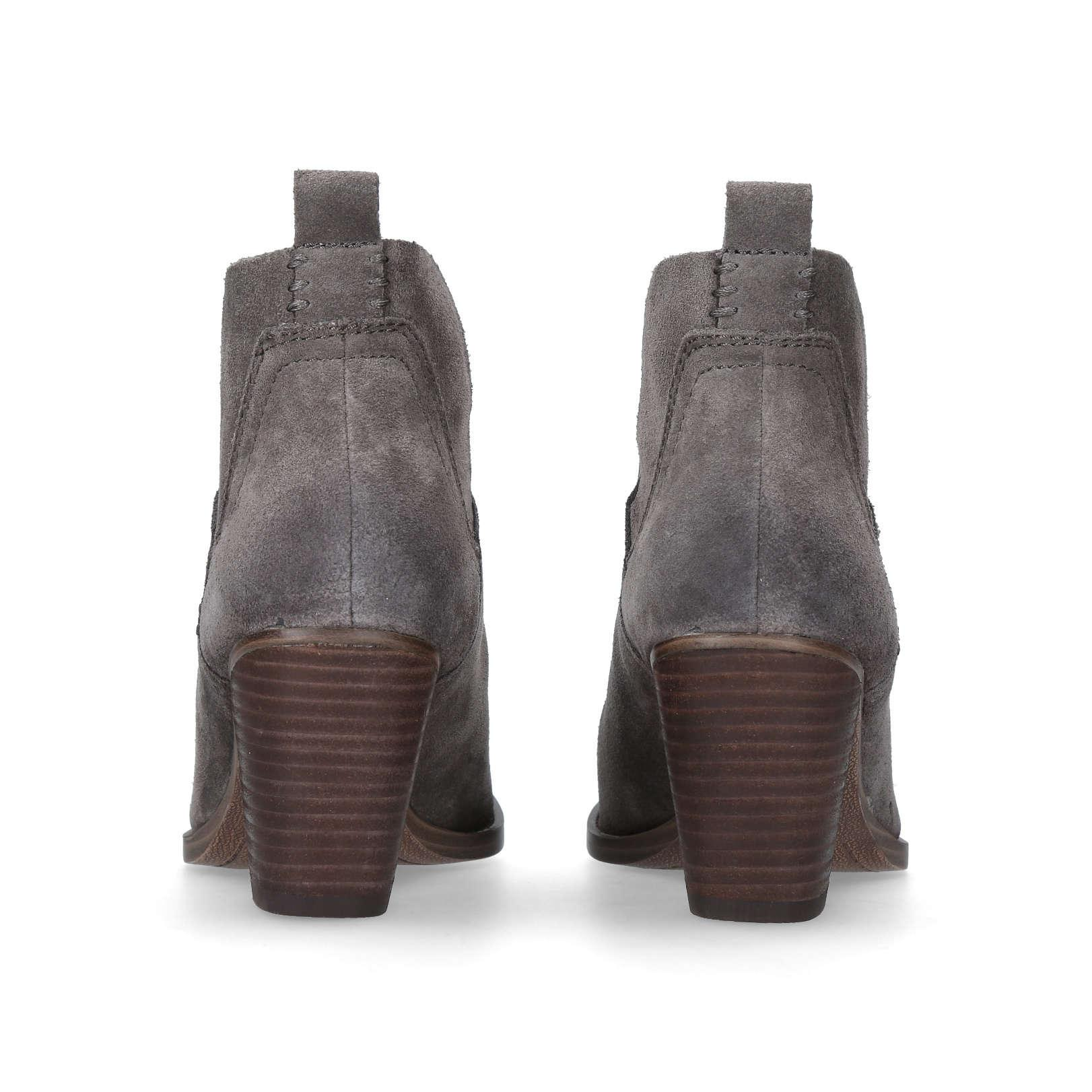 Vince Camuto Suede Bessey Ankle Boots in Grey (Grey)