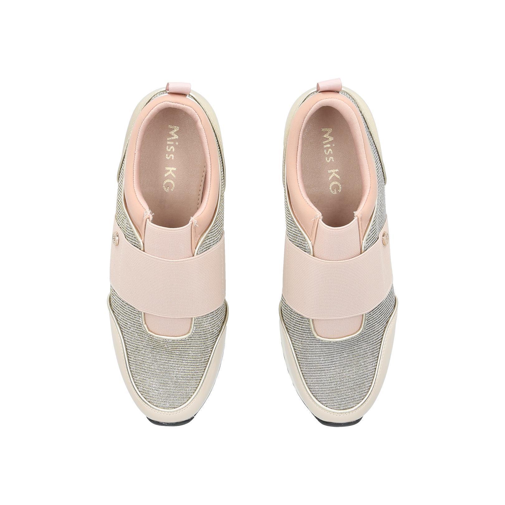 Miss Kg Slip On Sneakers in Pale Pink