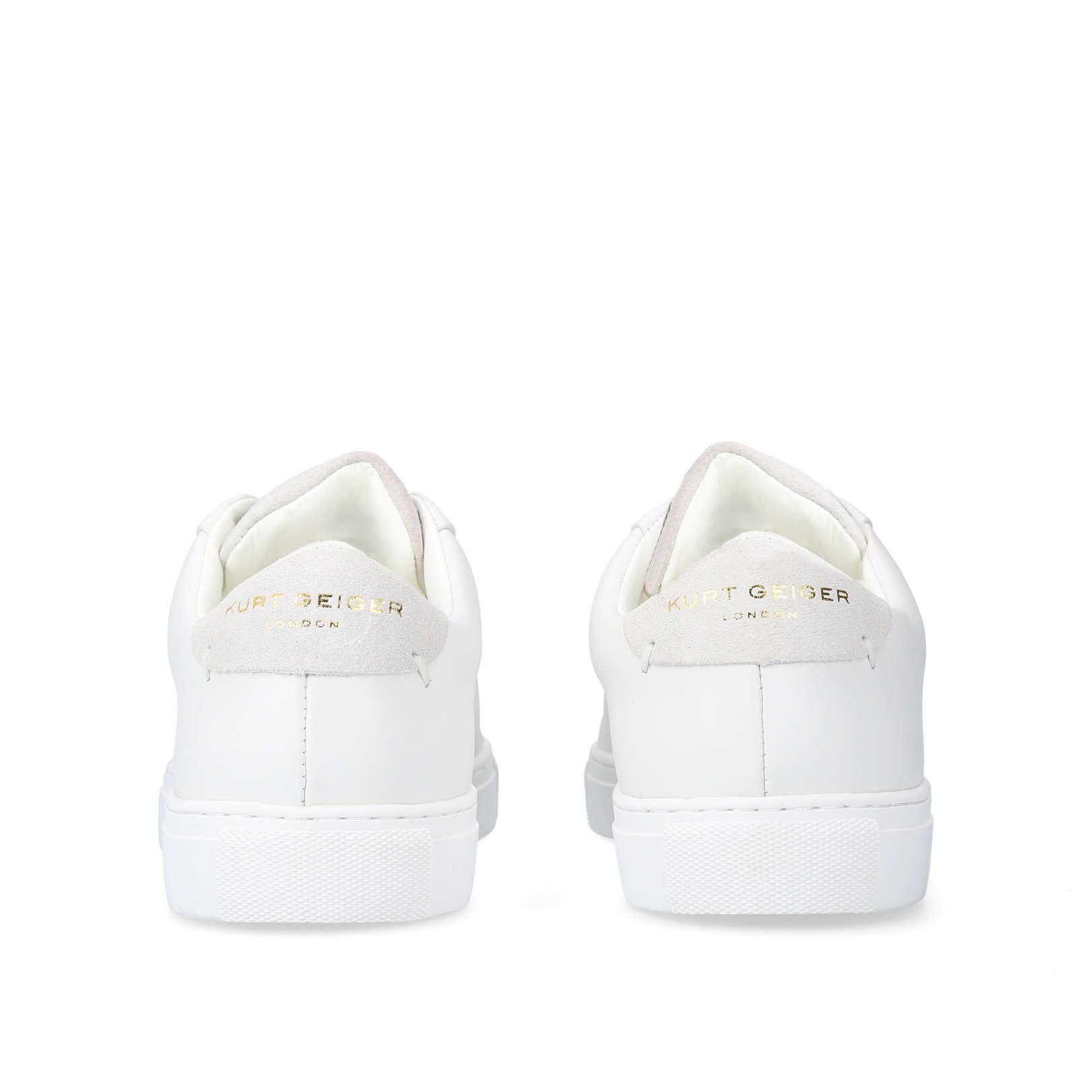 Kurt Geiger Leather Donnie in White for Men