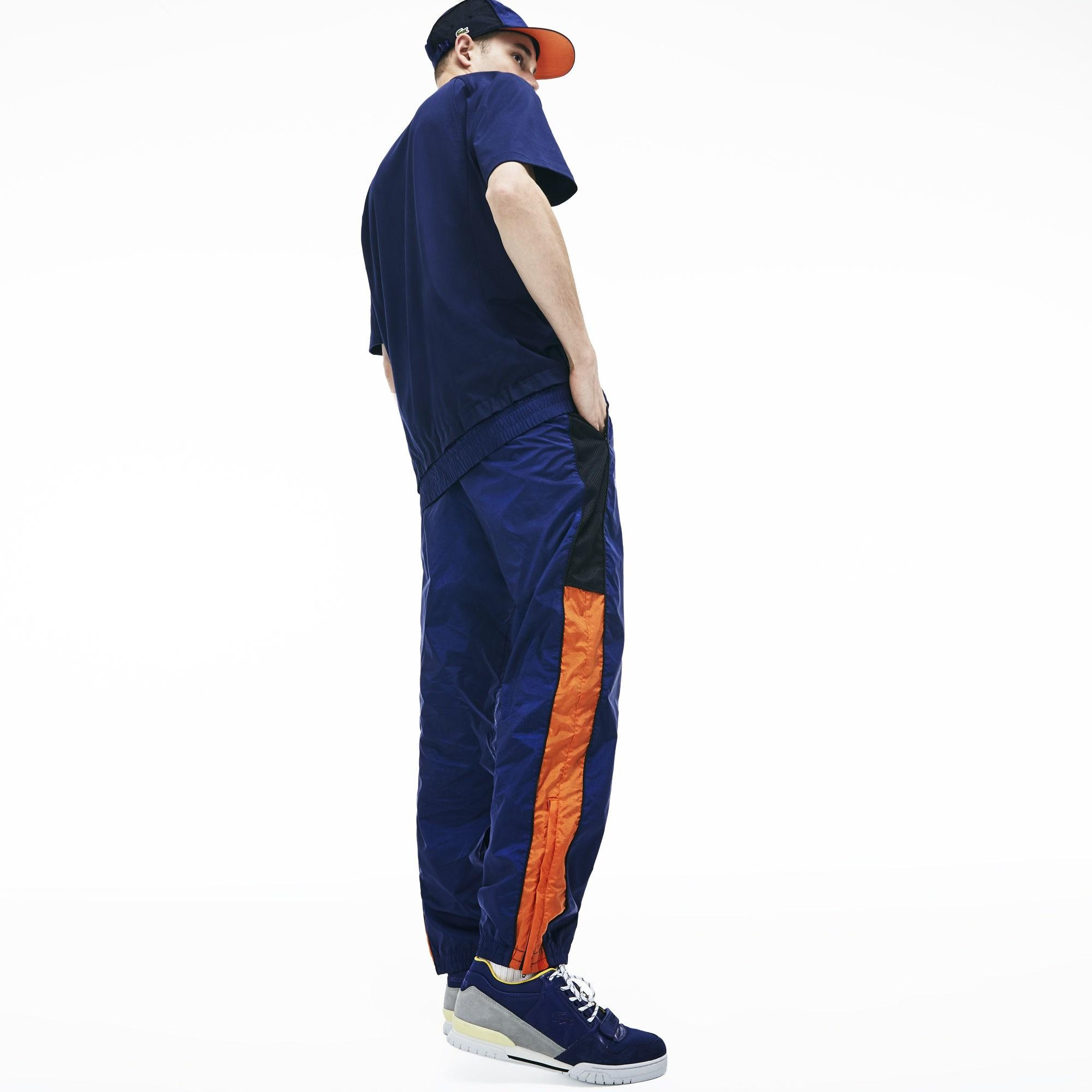 a20de375ee7bb Lacoste - Blue Live Mesh Trackpants for Men - Lyst. View fullscreen