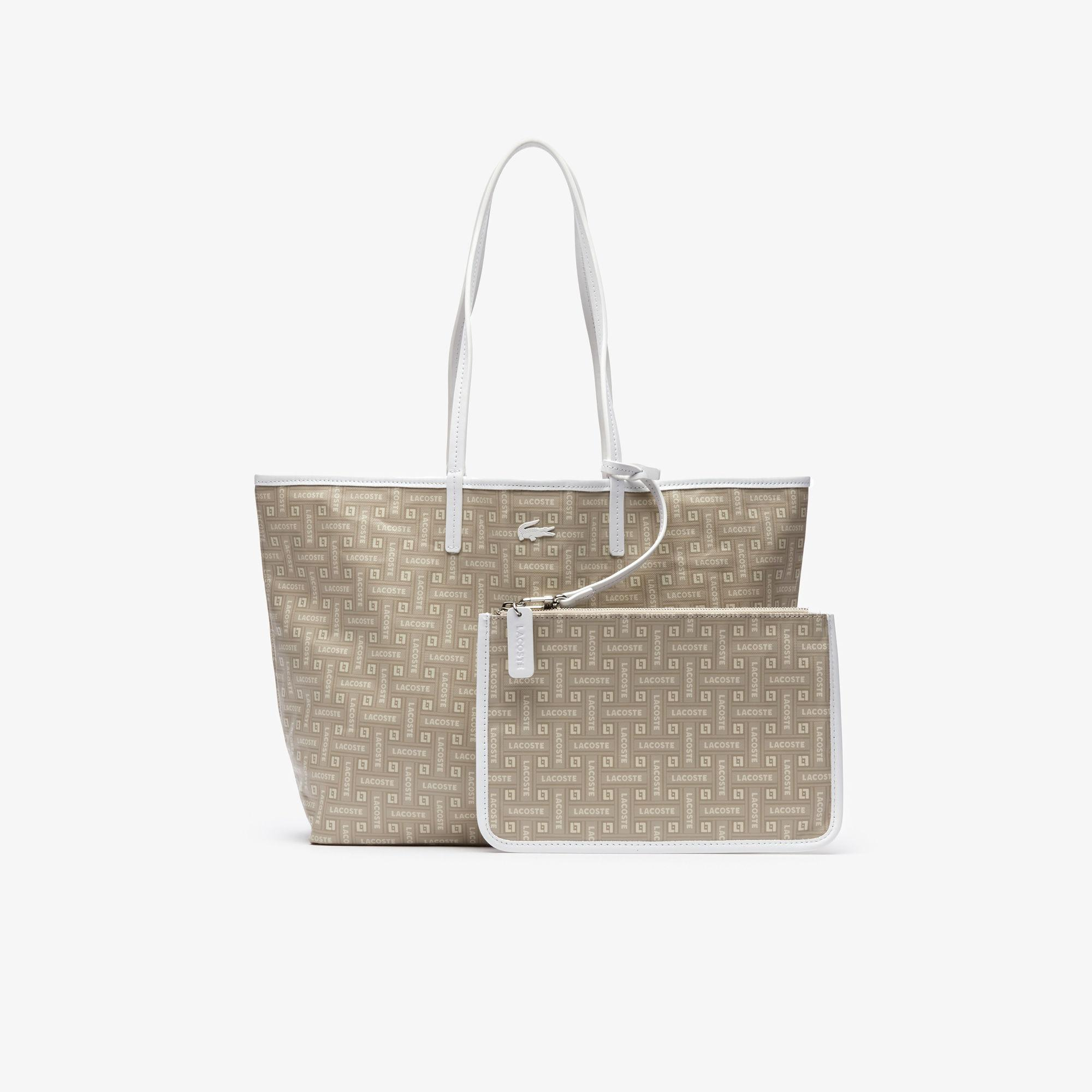 Coated Cotton Canvas Tote Bag Lyst View Fullscreen