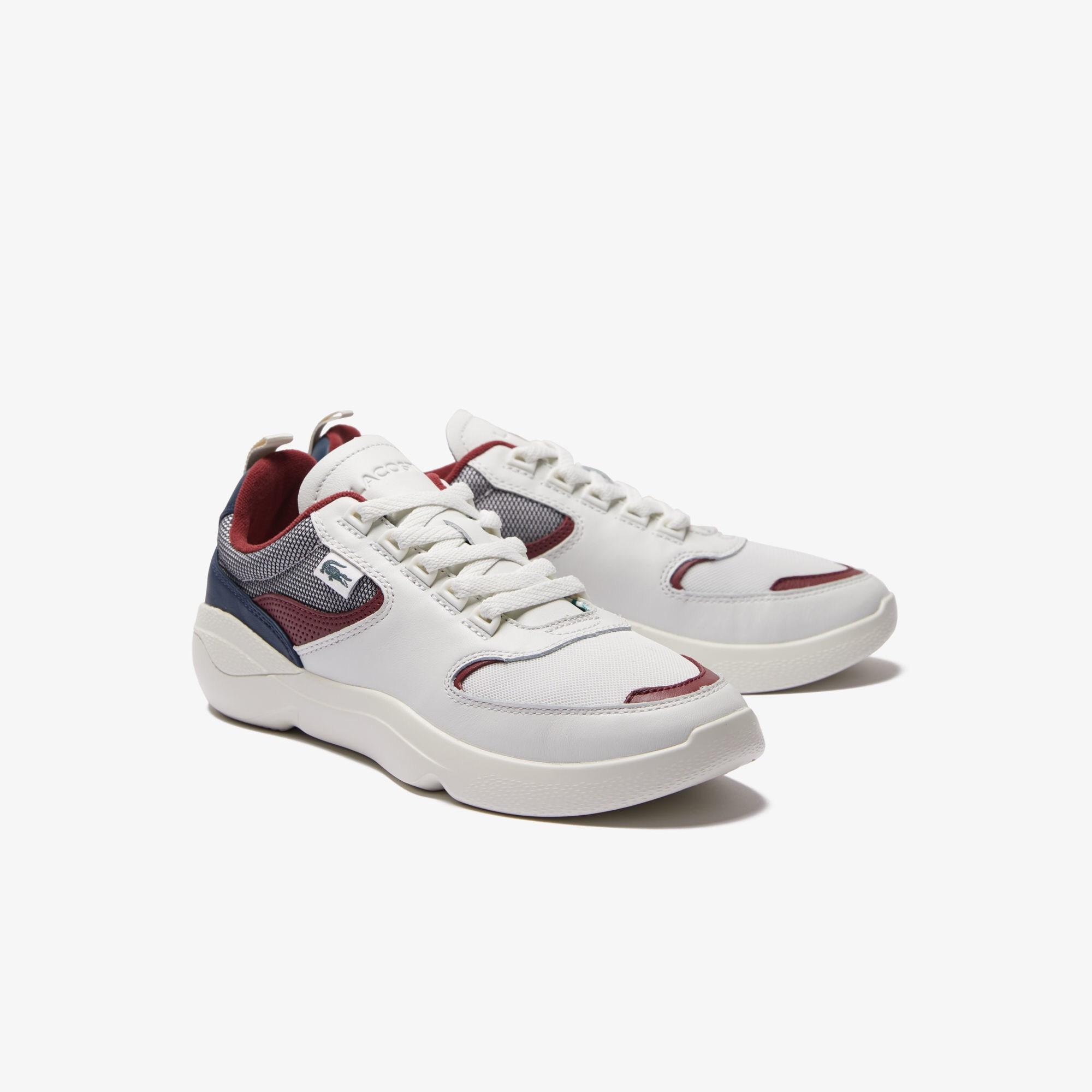 368db5f27 Lacoste - White Wildcard Leather Sneakers for Men - Lyst. View fullscreen