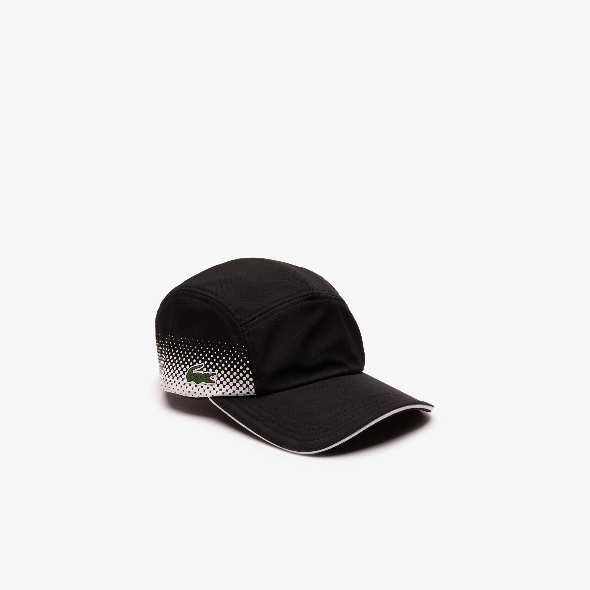 288b1723bd586 Lacoste Black Sport Breathable Tennis Cap for men