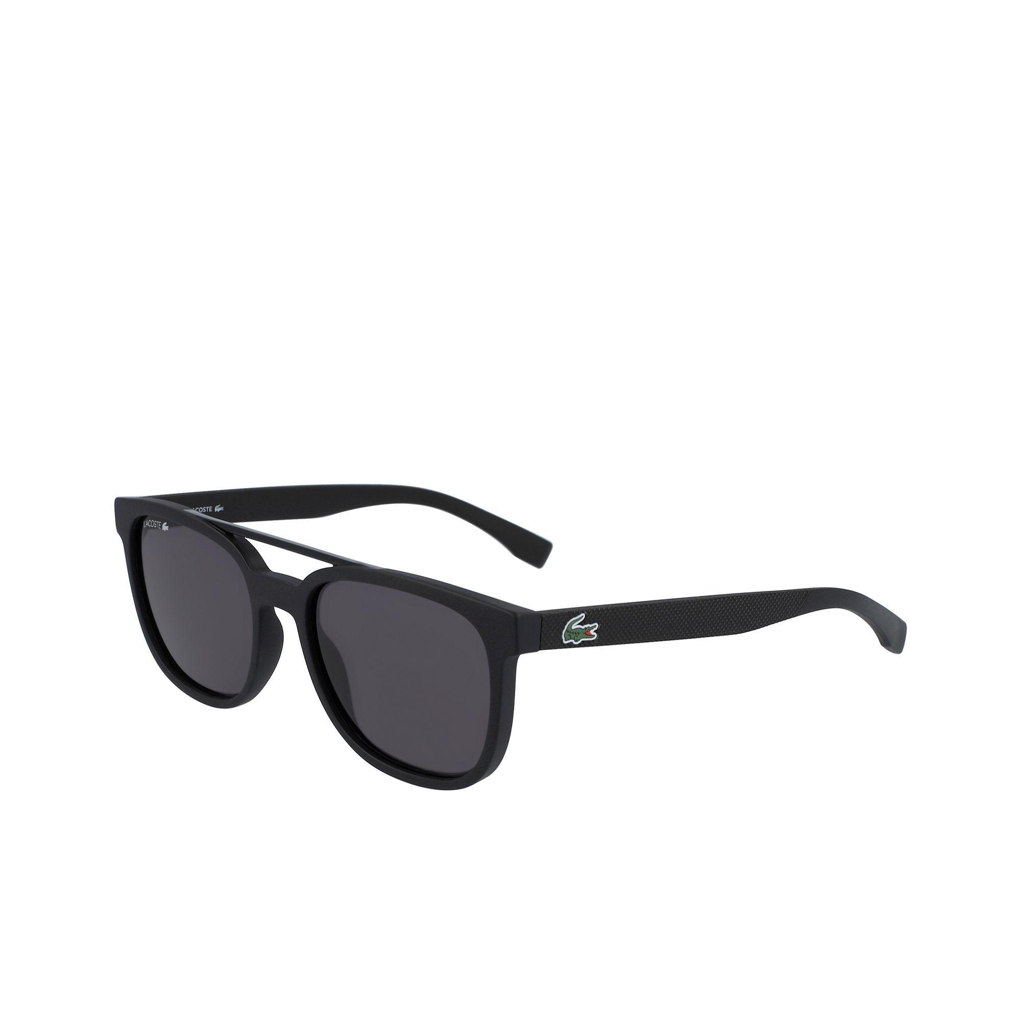 47b9d79418 Lyst - Lacoste Plastic Petit Piqué L.12.12 Sunglasses in Black