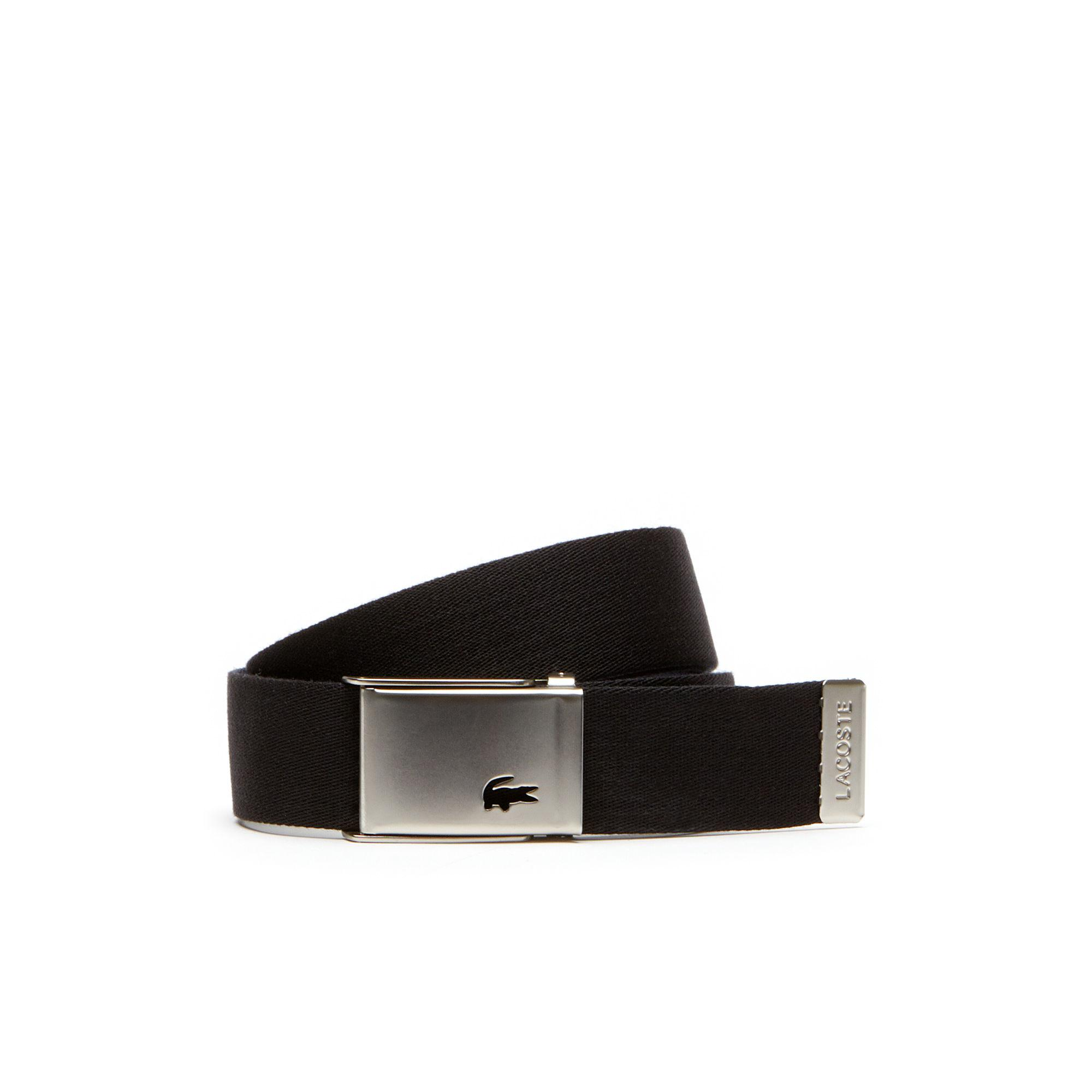530318597 Lyst - Lacoste Motion 2 Buckles And 2 Belts Travel Kit in Black for Men