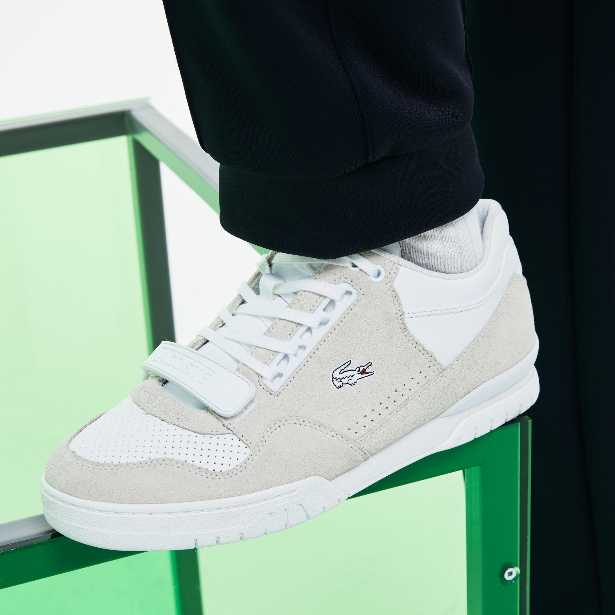 01de2ecd12 Lacoste Fashion Show Missouri Leather Sneakers in White for Men - Lyst