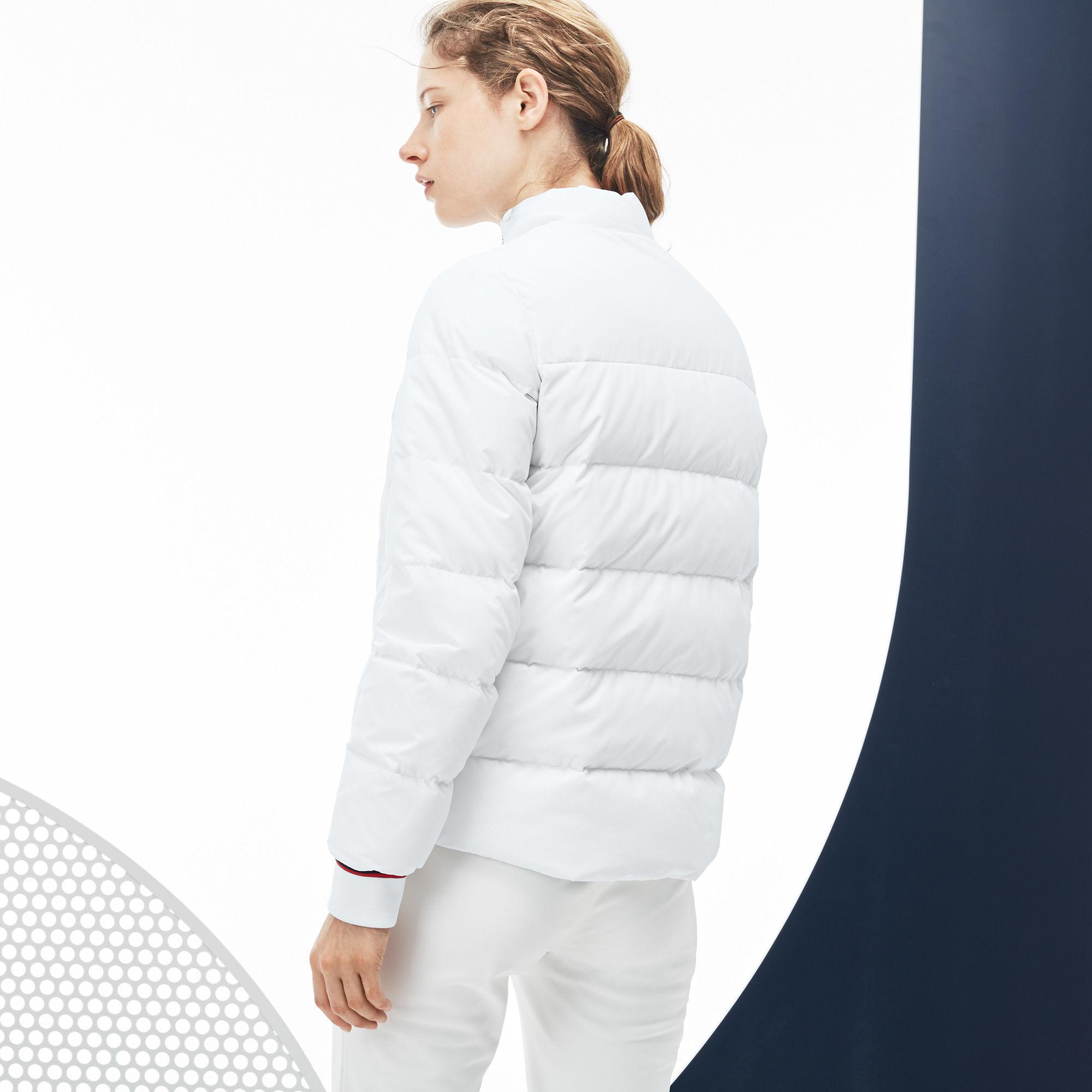 16c15ca2 Lacoste Multicolor French Sporting Spirit Edition Elasticized Panel Quilted  Jacket