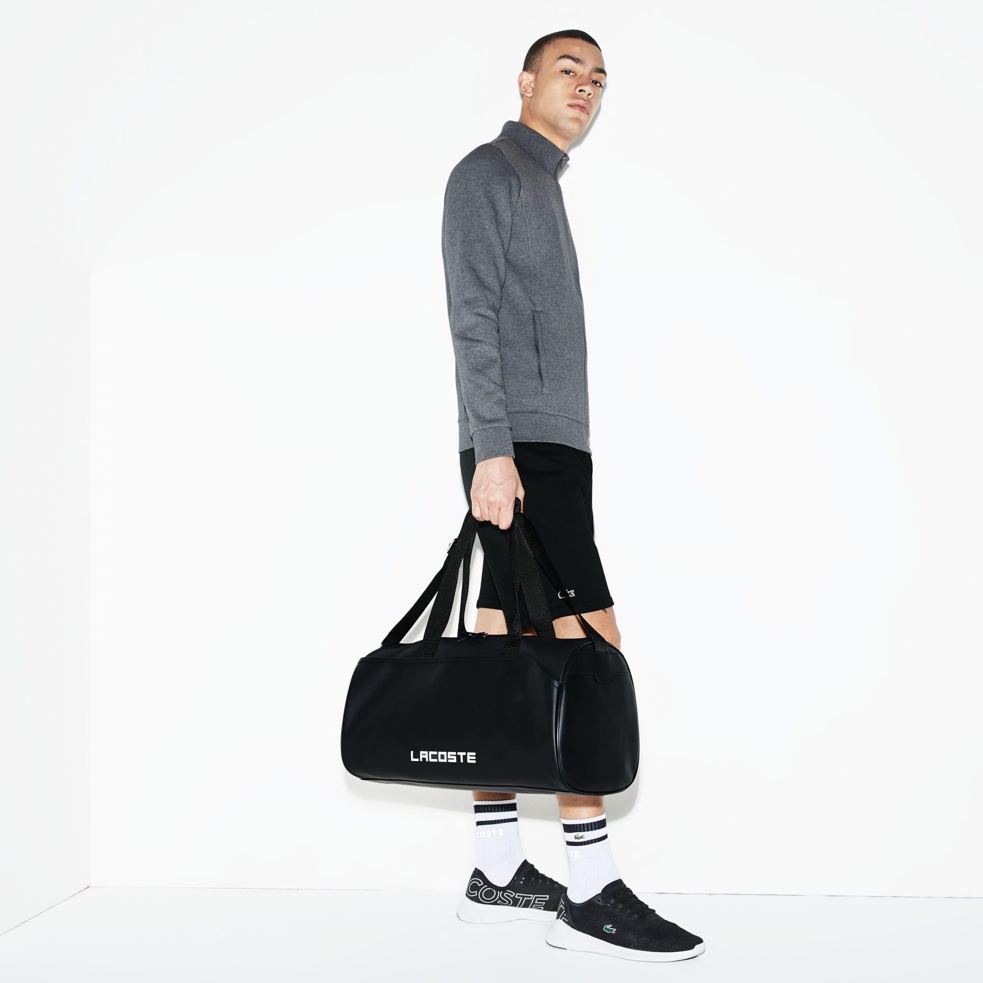 e1553129 Lacoste Black Sport Canvas Roll Bag for men