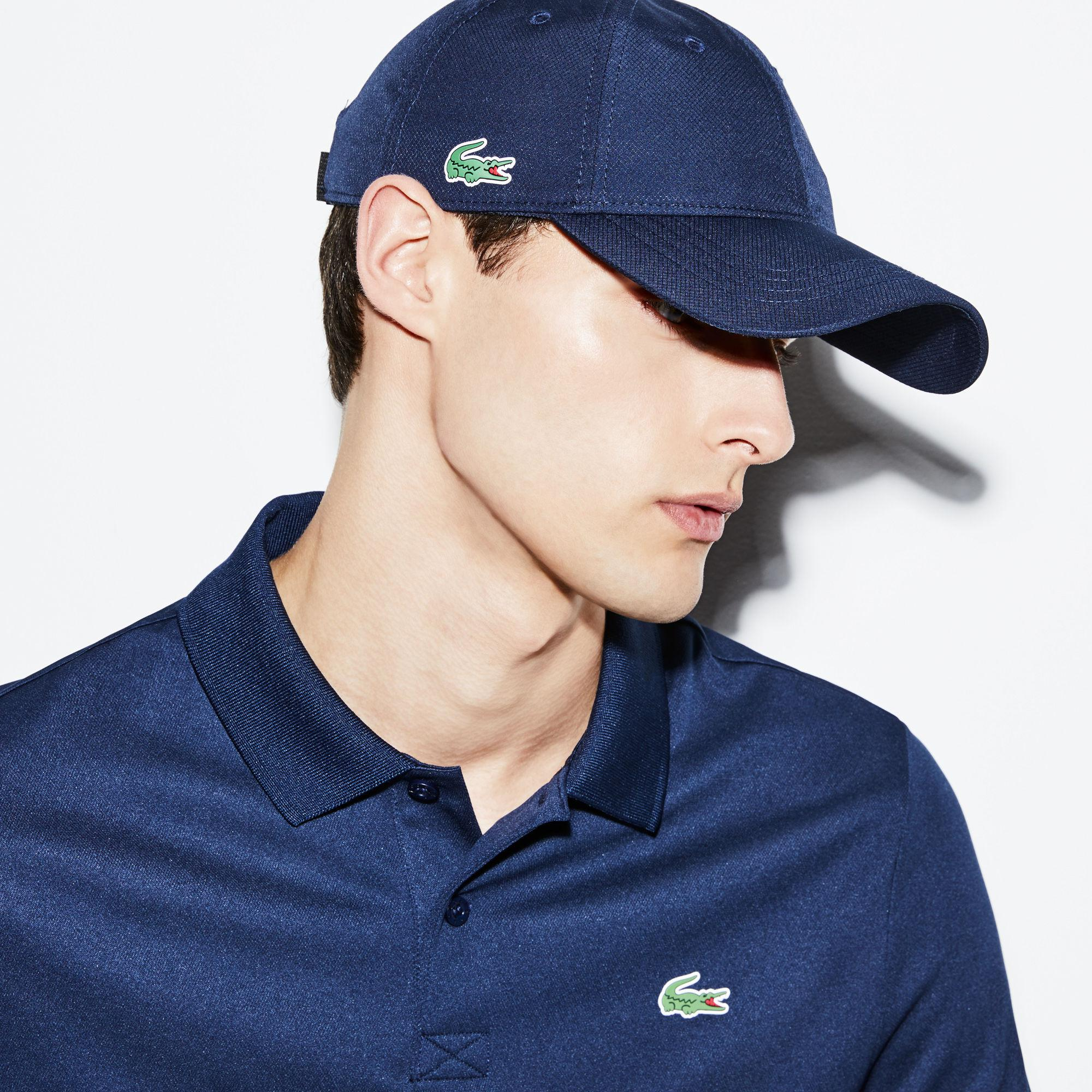 67646b3cfab Lyst - Lacoste Sport Taffeta Cap in Blue for Men