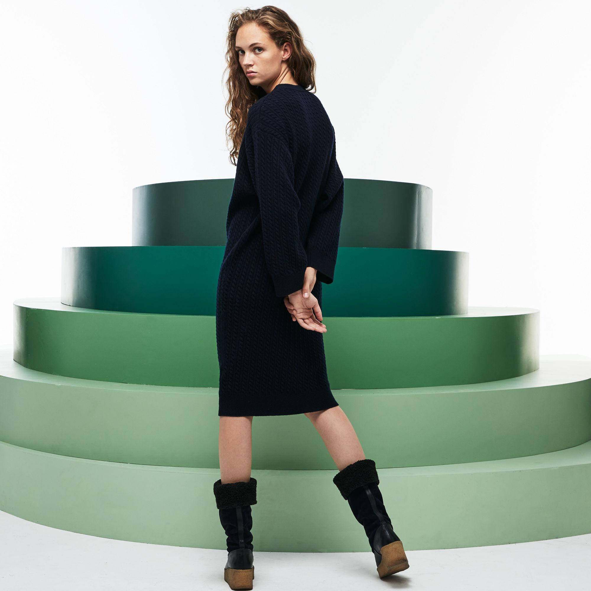 Fashion Oversized Cashmere And Wool Sweater Show Lacoste Lyst 5qZxpwzt4n