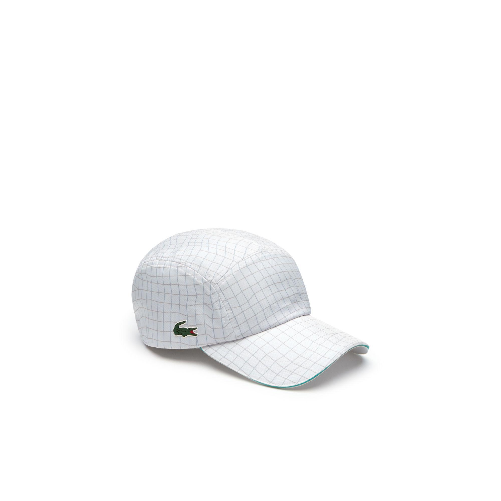 bb33d7159ebf1 Lacoste White Sport Tennis Colourblock Taffeta Cap for men