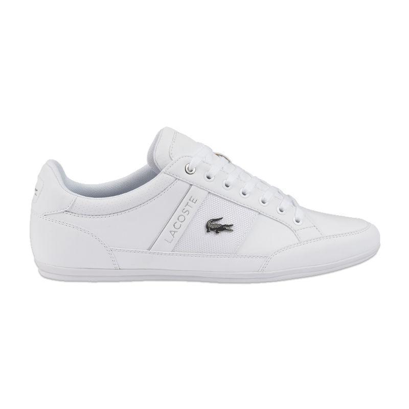 fa0c5e8d4309 Lyst - Lacoste Chaymon Leather Sneakers in White for Men